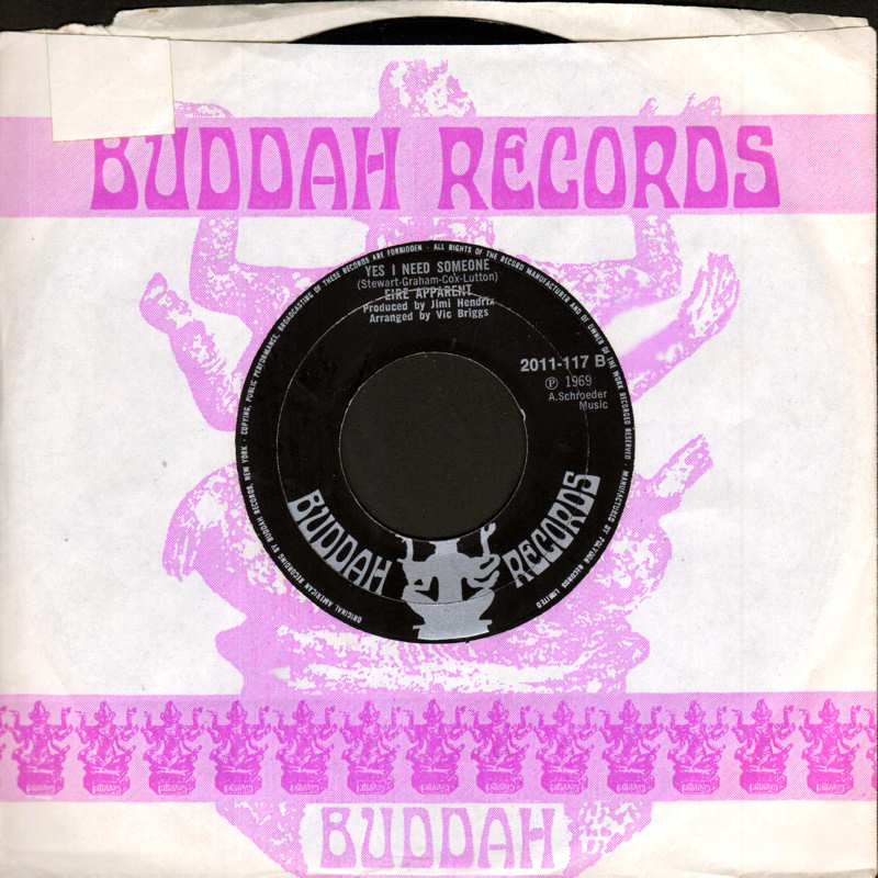 Discographie : 45 Tours : SP,  EP,  Maxi 45 tours - Page 12 Buddah2011-117EireApparentYesINeedSomeone