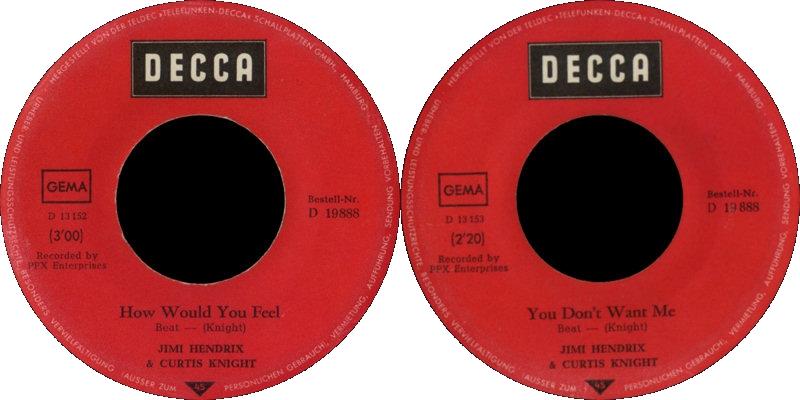 Discographie : Enregistrements pré-Experience & Ed Chalpin  - Page 5 DeccaD19888-HowWouldYouFeel-YouDontWantMeLabel