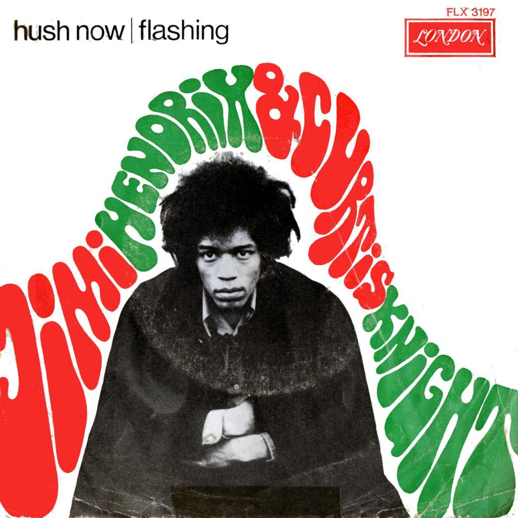 Discographie : Enregistrements pré-Experience & Ed Chalpin  - Page 7 LondonFLX3197-HushNow-FlashingFront