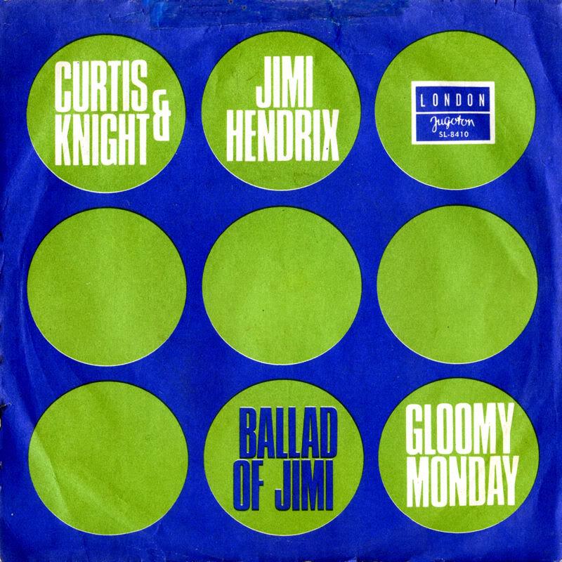 Discographie : Enregistrements pré-Experience & Ed Chalpin  - Page 4 LondonSL-8410-TheBalladOfJimiYougoslavieFront