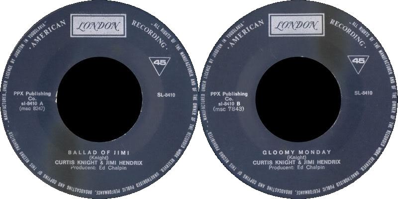 Discographie : Enregistrements pré-Experience & Ed Chalpin  - Page 4 LondonSL-8410-TheBalladOfJimiYougoslavieLabel