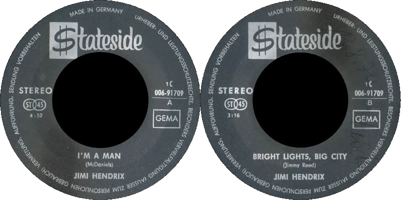 Discographie : Enregistrements pré-Experience & Ed Chalpin  - Page 4 Stateside1C-006-91709-ImAMan-BrightLigtsBigCityLabel