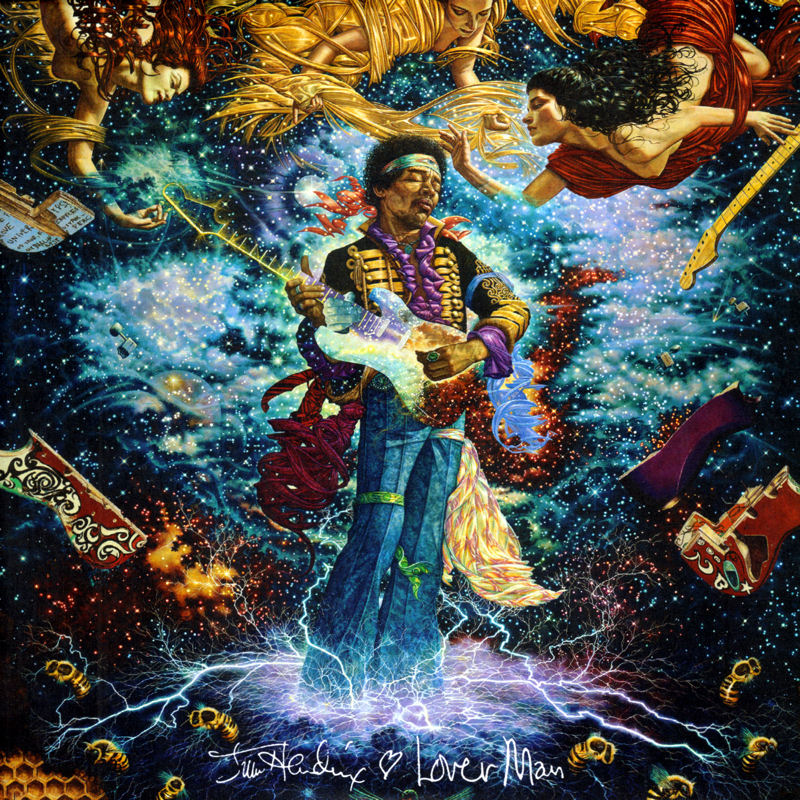 Discographie : 45 Tours : SP,  EP,  Maxi 45 tours - Page 11 Experience%20Hendrix%209075.82399-7%20Lover%20Man%20-%20Foxy%20Lady%20Front
