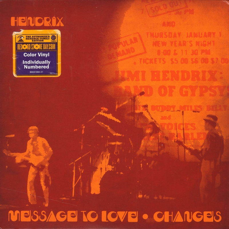 Discographie : 45 Tours : SP,  EP,  Maxi 45 tours Experience%20Hendrix-CapitolB0031684-21MessageToLoveFront