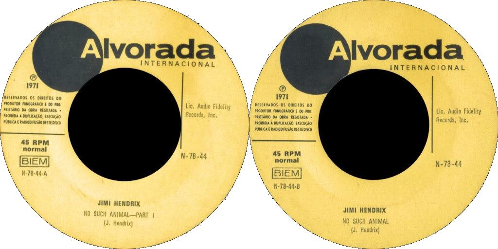 Discographie : Enregistrements pré-Experience & Ed Chalpin  - Page 4 AlvoradaN7844-NoSuchAnimal