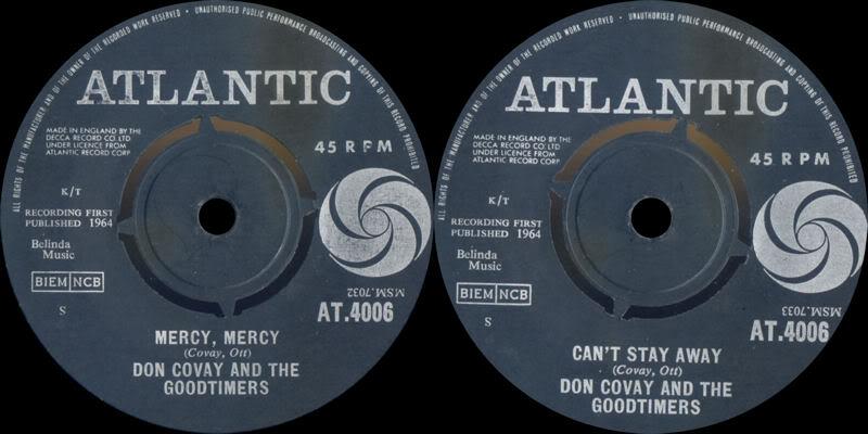 Discographie : Enregistrements pré-Experience & Ed Chalpin  - Page 3 AtlanticAT4006-MercyMercy-CantStayAwayDonCovayTheGoodtimers