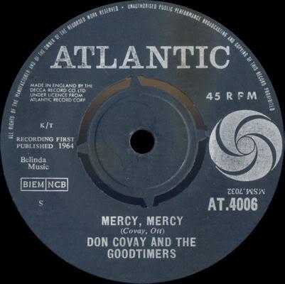 Discographie : Enregistrements pré-Experience & Ed Chalpin  AtlanticAT4006-MercyMercy-CantStayAwayDonCovayTheGoodtimersvignette