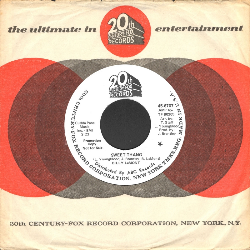 Discographie : Enregistrements pré-Experience & Ed Chalpin  Billy%20LaMont%20-%20Sweet%20Thang%20-%2020th%20Century%20Fox%2045-6707%20A
