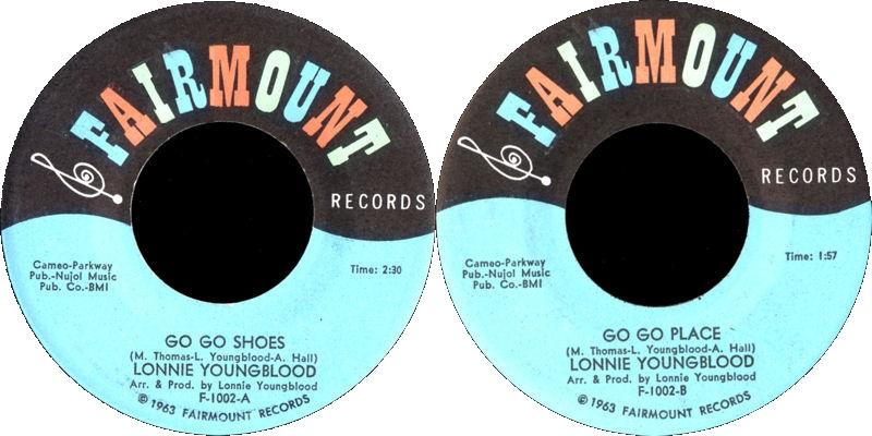 Discographie : Enregistrements pré-Experience & Ed Chalpin  - Page 4 FairmountF-1002-GoGoShoes-GoGoPlace