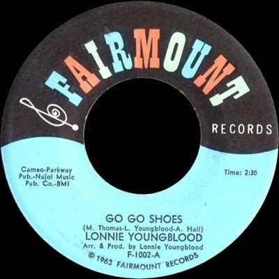 Discographie : Enregistrements pré-Experience & Ed Chalpin  FairmountF-1002-GoGoShoes-GoGoPlacevignette
