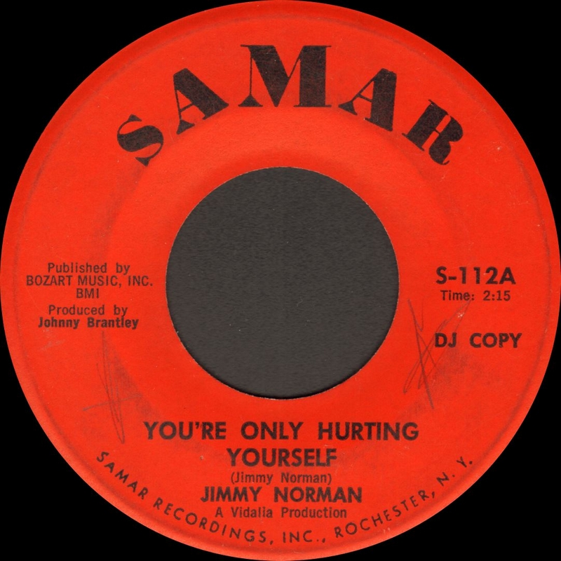 Discographie : Enregistrements pré-Experience & Ed Chalpin  - Page 9 JimmyNorman-You%27re%20Only%20Hurting%20Yourself-SamarS112A