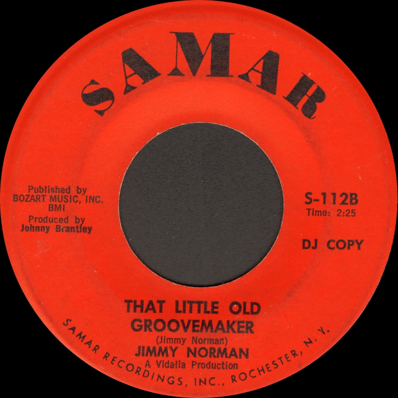 Discographie : Enregistrements pré-Experience & Ed Chalpin  JimmyNorman-You%27re%20Only%20Hurting%20Yourself-SamarS112B