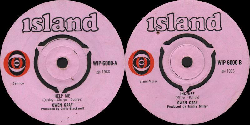 Discographie : Enregistrements pré-Experience & Ed Chalpin  - Page 9 Owen%20Gray%20-%20Help%20Me%20Island%20WIP-6000-1966