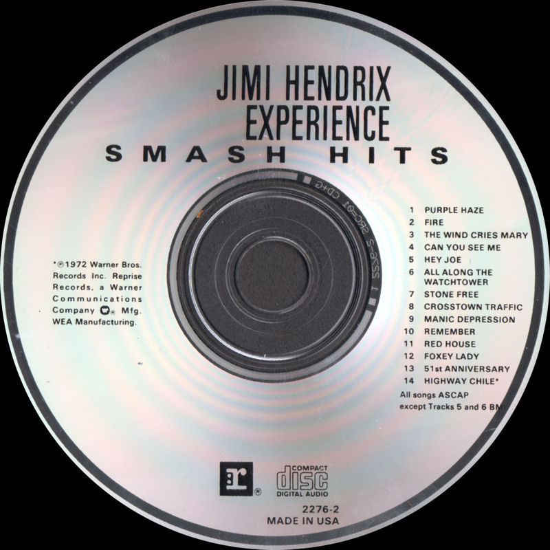 Discographie : Compact Disc   - Page 2 SmashHitsReprise2276-21988Label_zps5b74ef39
