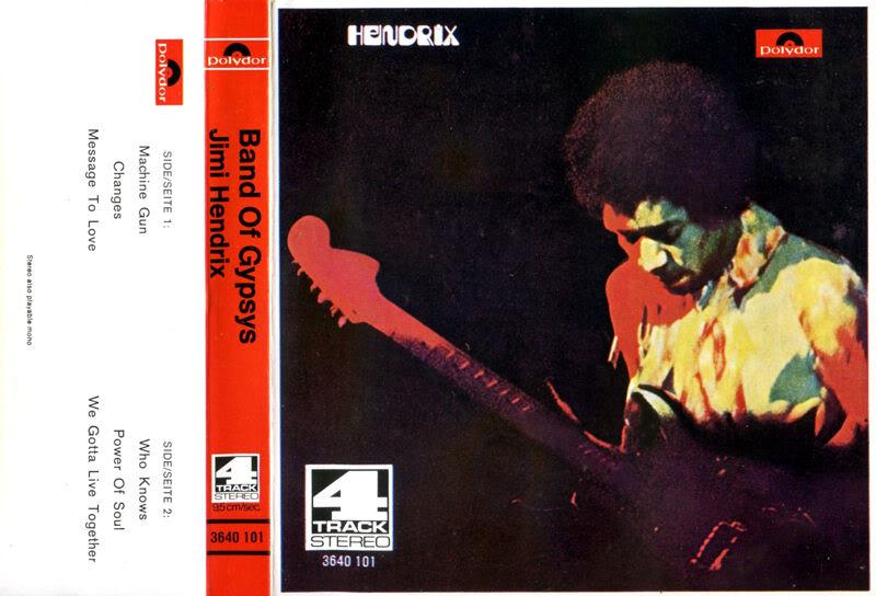 Discographie : Rééditions & Compilations BandOfGypsysReeltoReelGermanyFront