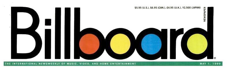 Magazines Américains - Page 3 Billboard1mai1999_page1_image1