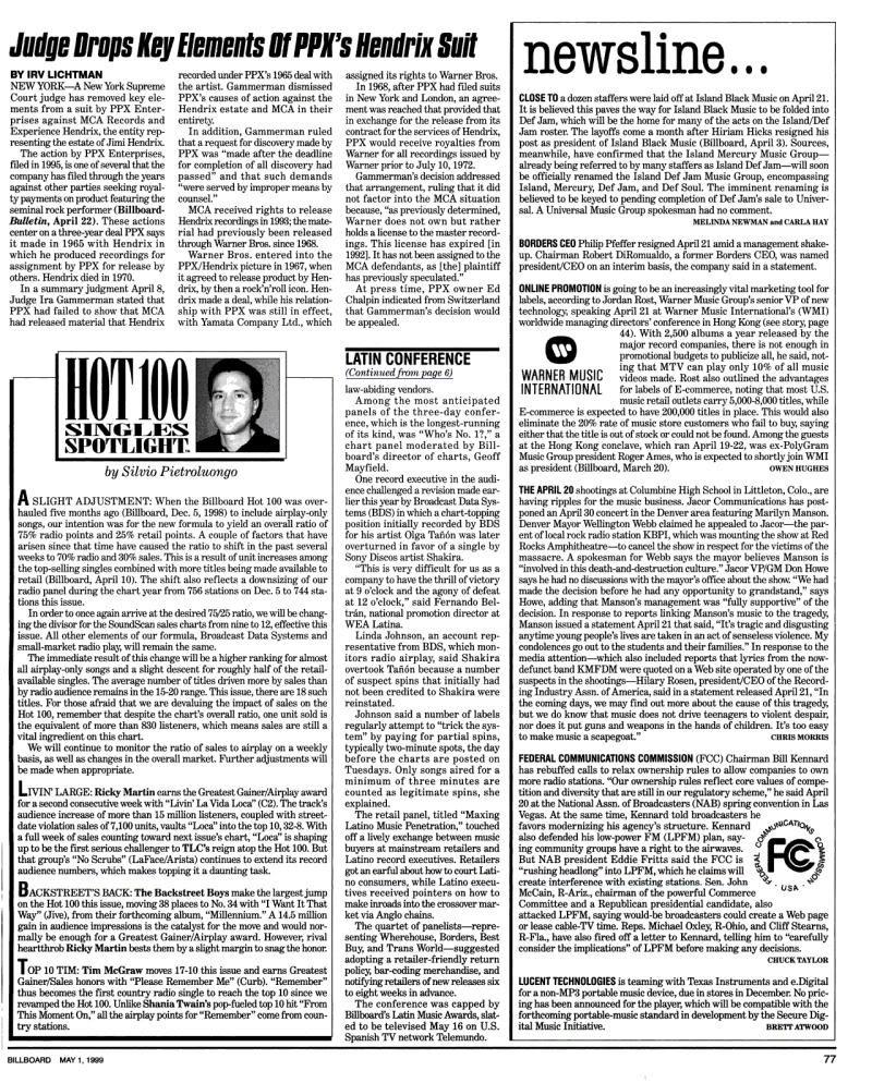 Magazines Américains - Page 3 Billboard1mai1999_page93_image1