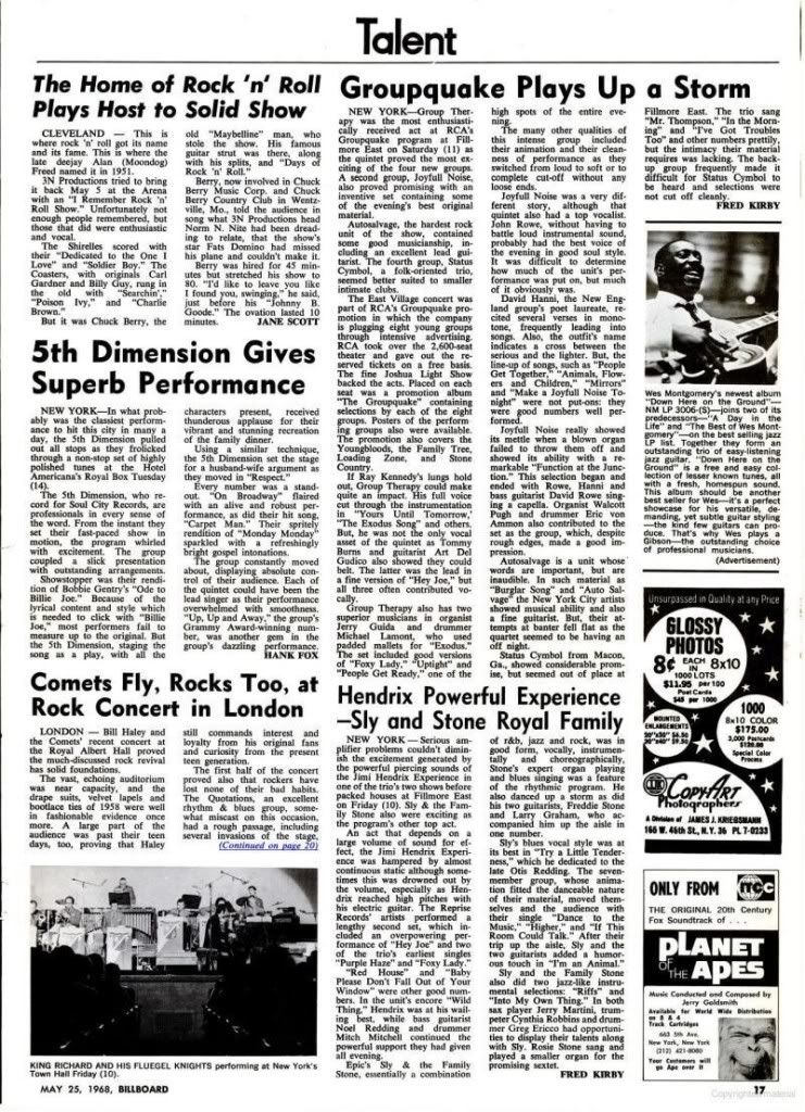 Magazines Américains Billboard25mai1968_page17_image1