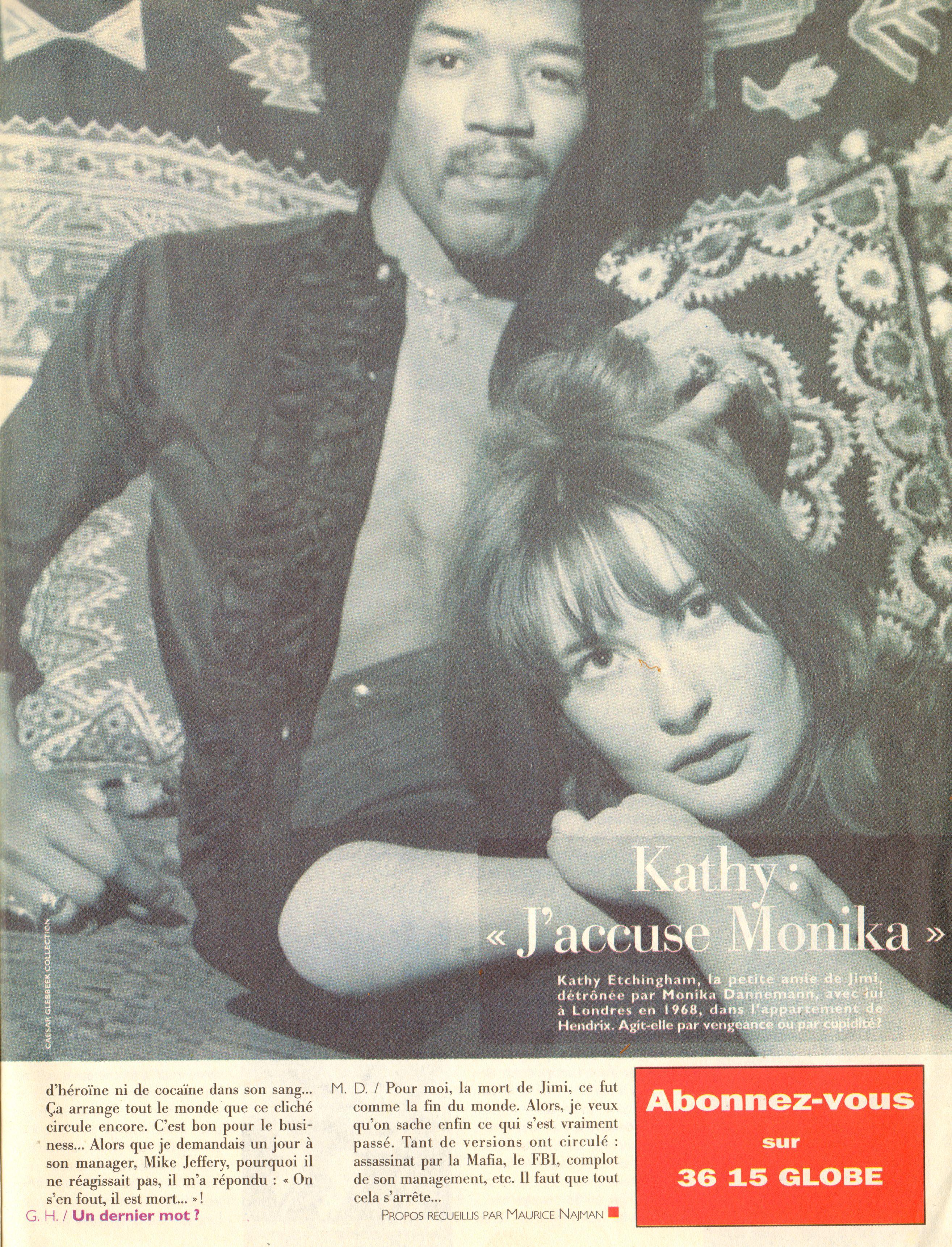 Magazines Français 1989 - 2014 GlobeHebdo26Janvier1reFevrier1994Page05