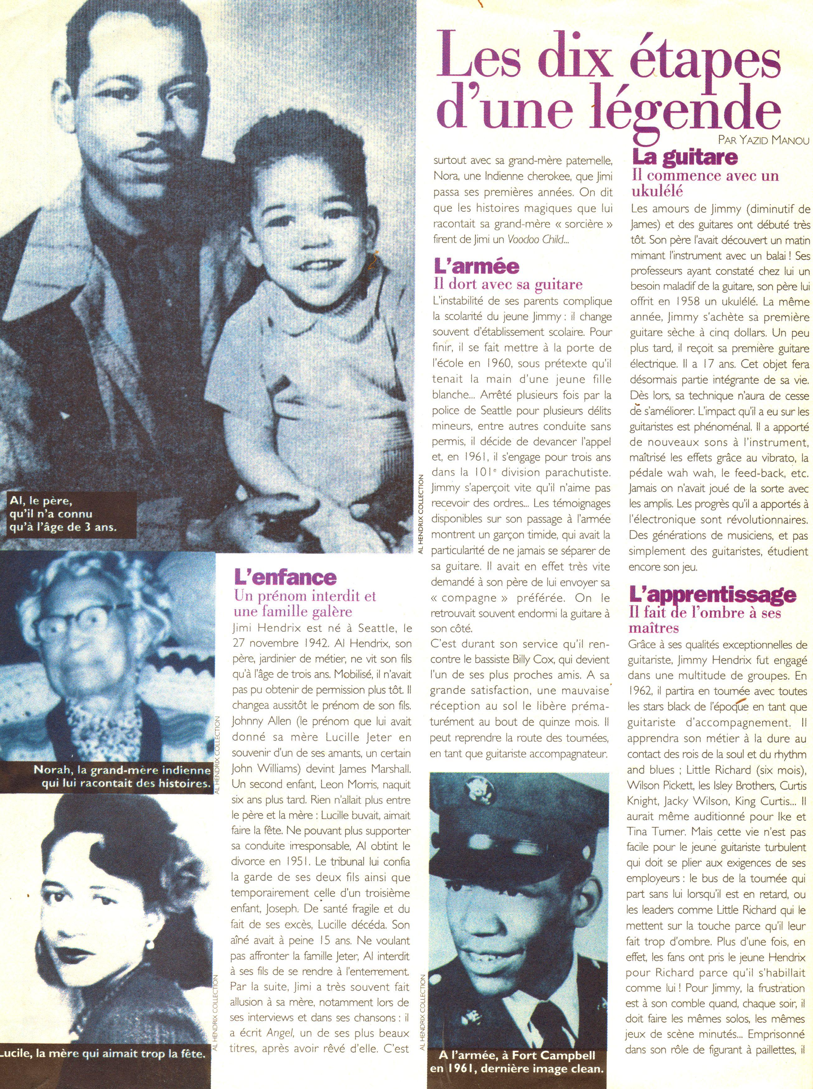 Magazines Français 1989 - 2014 GlobeHebdo26Janvier1reFevrier1994Page06