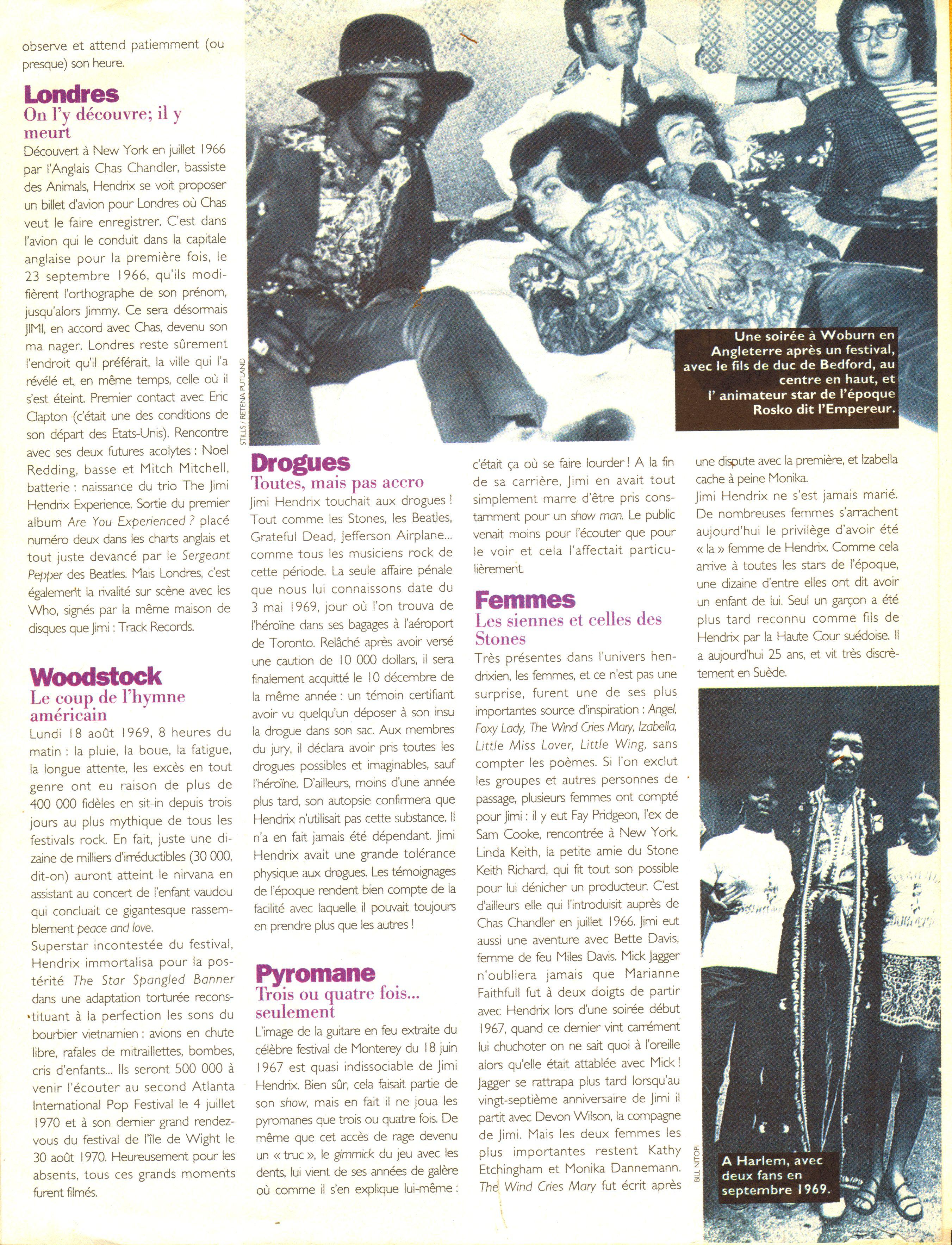 Magazines Français 1989 - 2014 GlobeHebdo26Janvier1reFevrier1994Page07