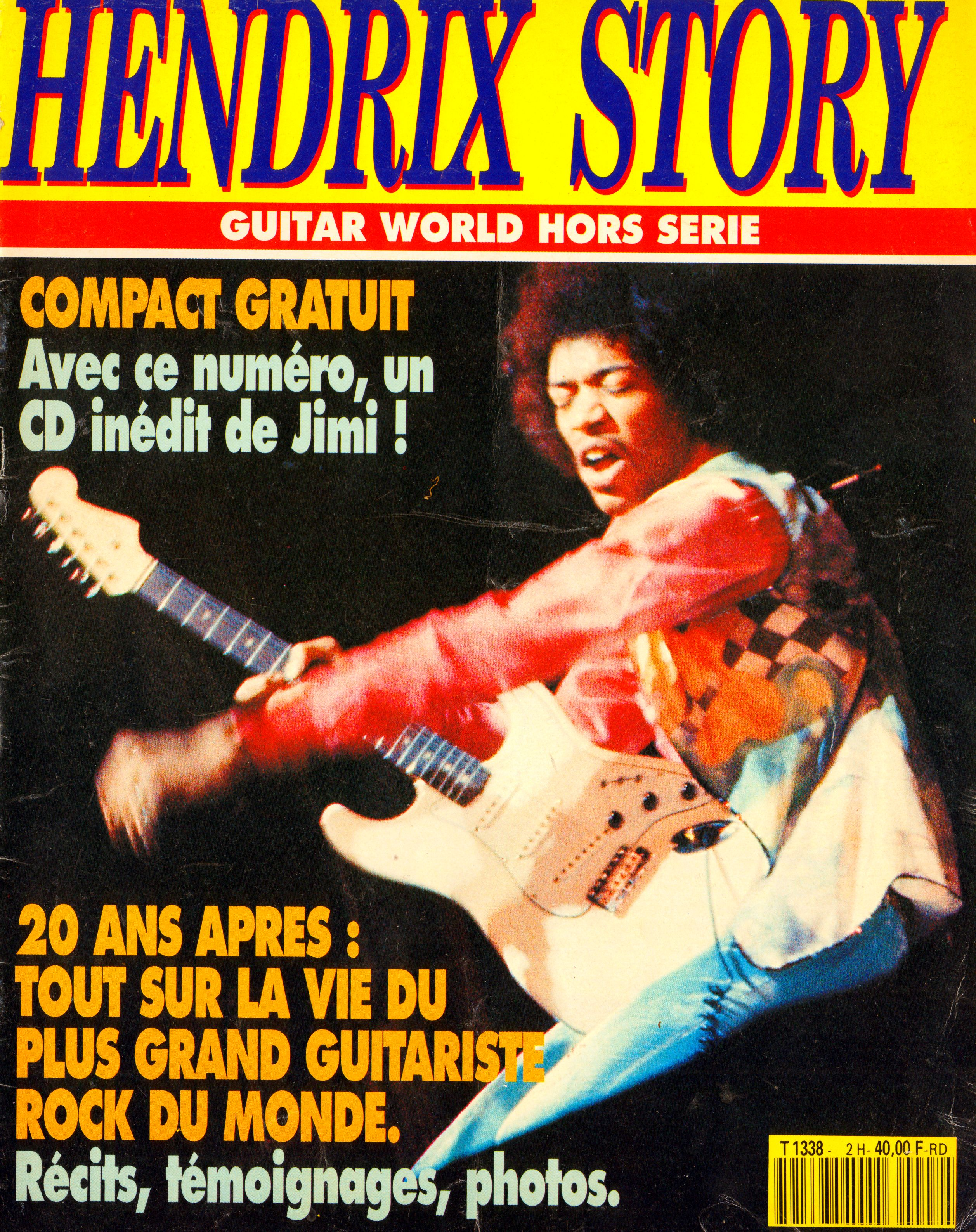 Magazines Français 1989 - 2014 GuitarWorldAvrilMaiJuin1990Couverture