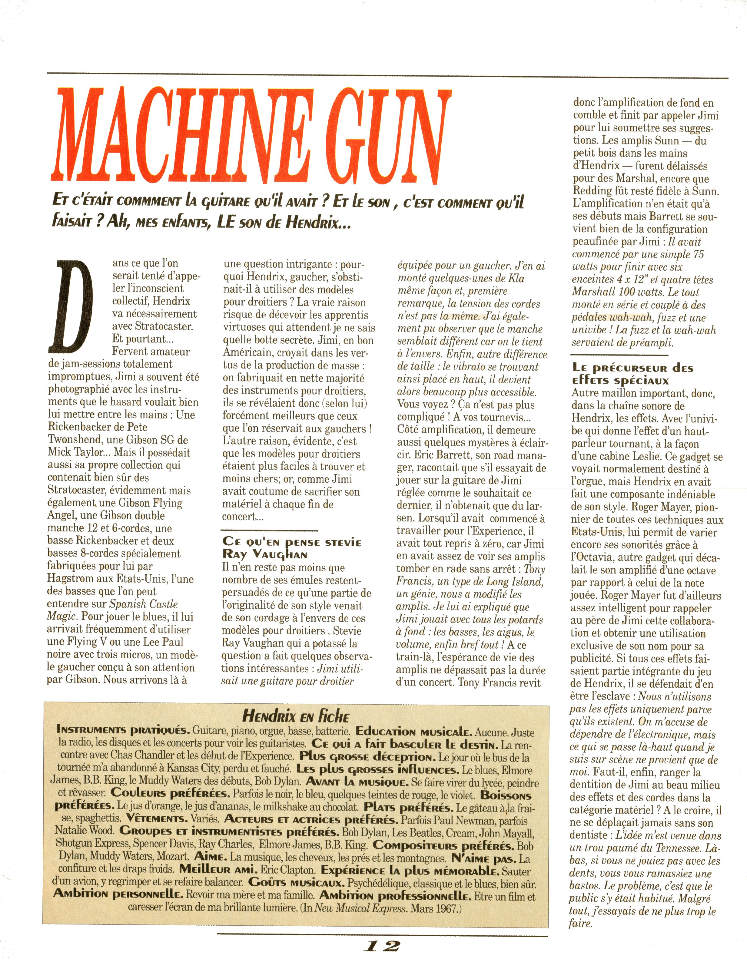 Magazines Français 1989 - 2014 GuitarWorldAvrilMaiJuin1990Page12