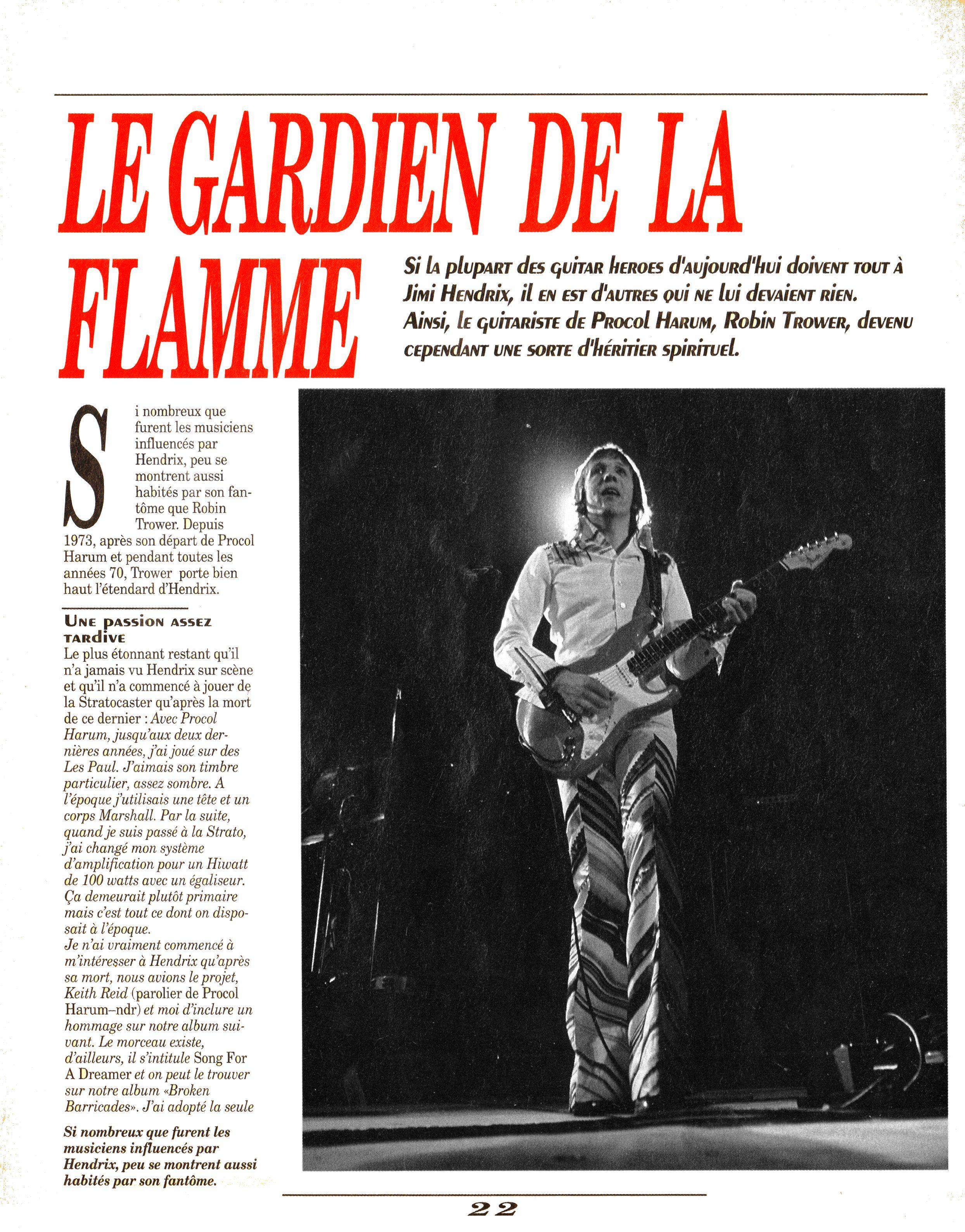 Magazines Français 1989 - 2014 GuitarWorldAvrilMaiJuin1990Page22