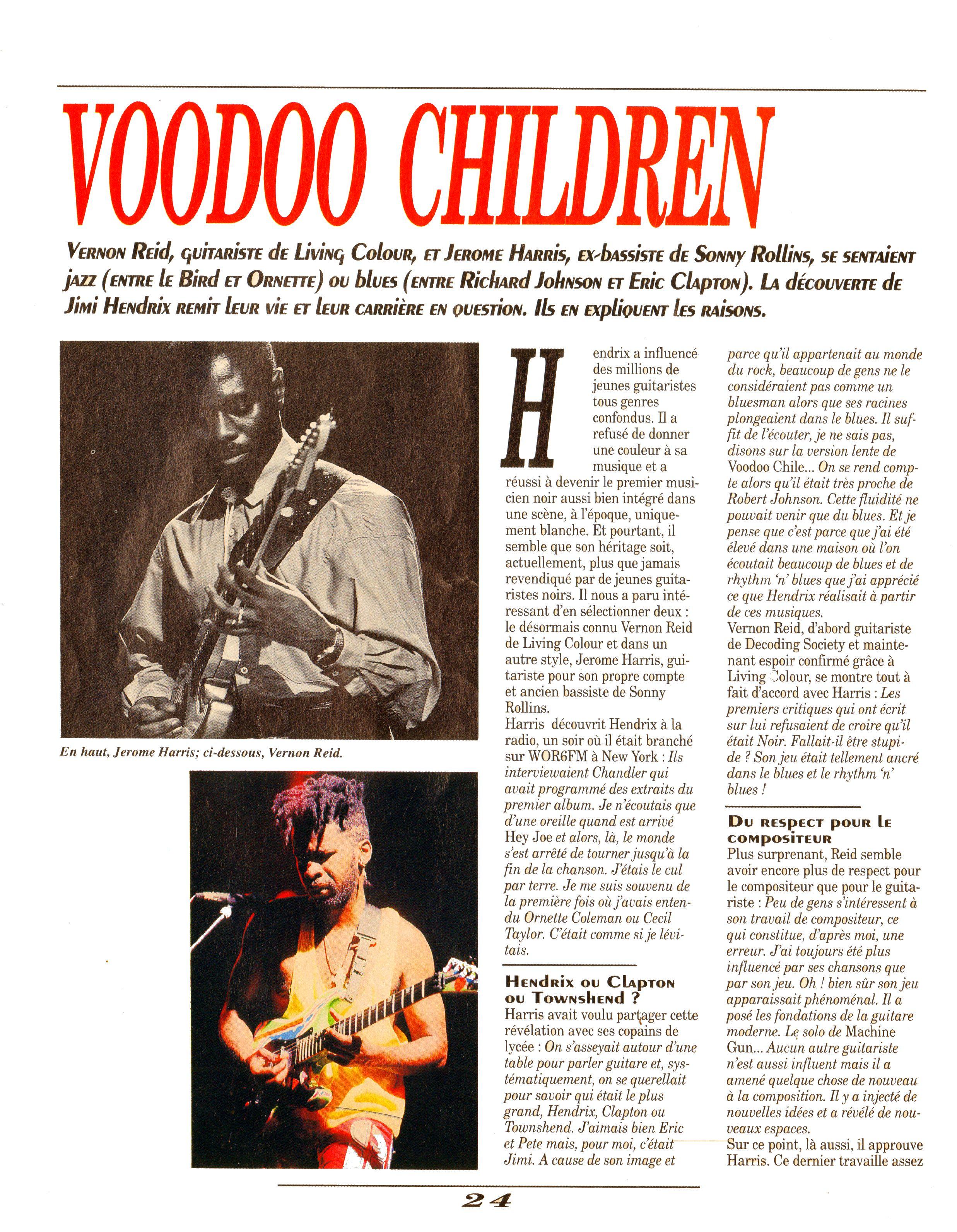 Magazines Français 1989 - 2014 GuitarWorldAvrilMaiJuin1990Page24