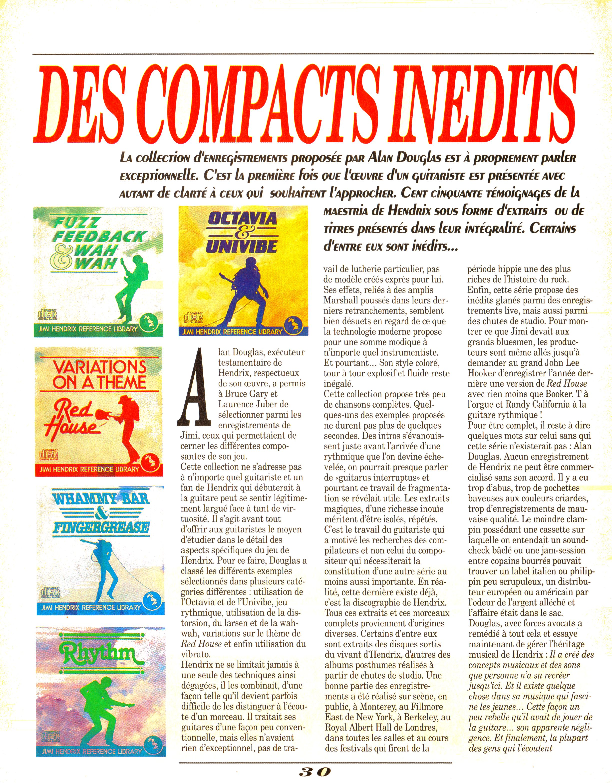Magazines Français 1989 - 2014 GuitarWorldAvrilMaiJuin1990Page30