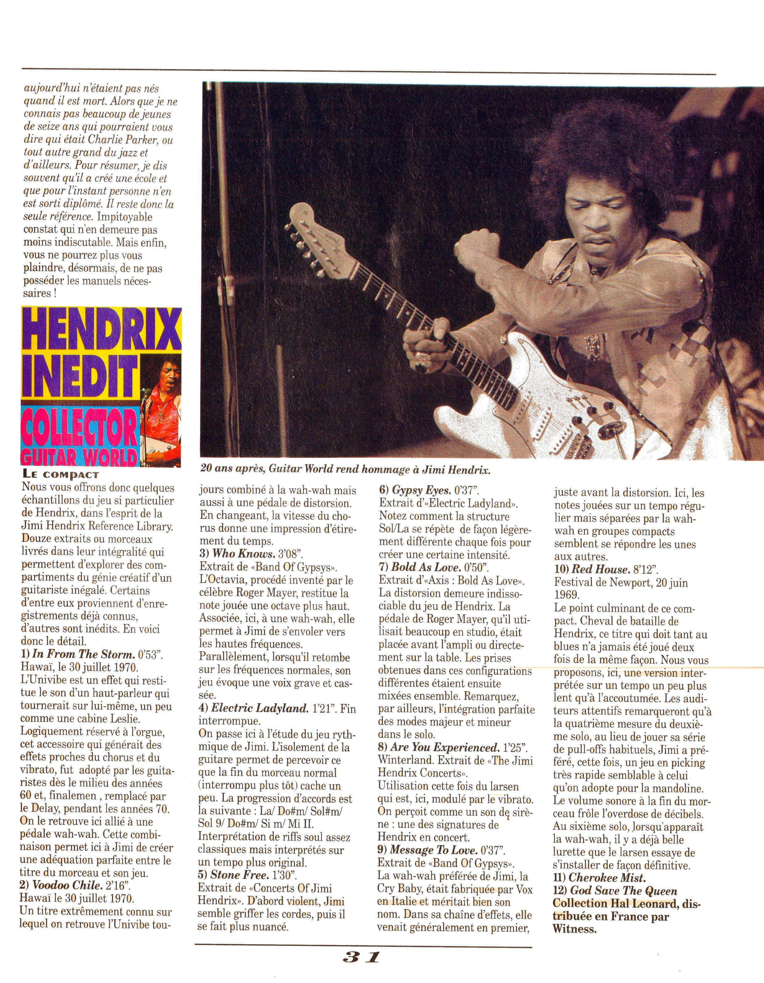 Magazines Français 1989 - 2014 GuitarWorldAvrilMaiJuin1990Page31