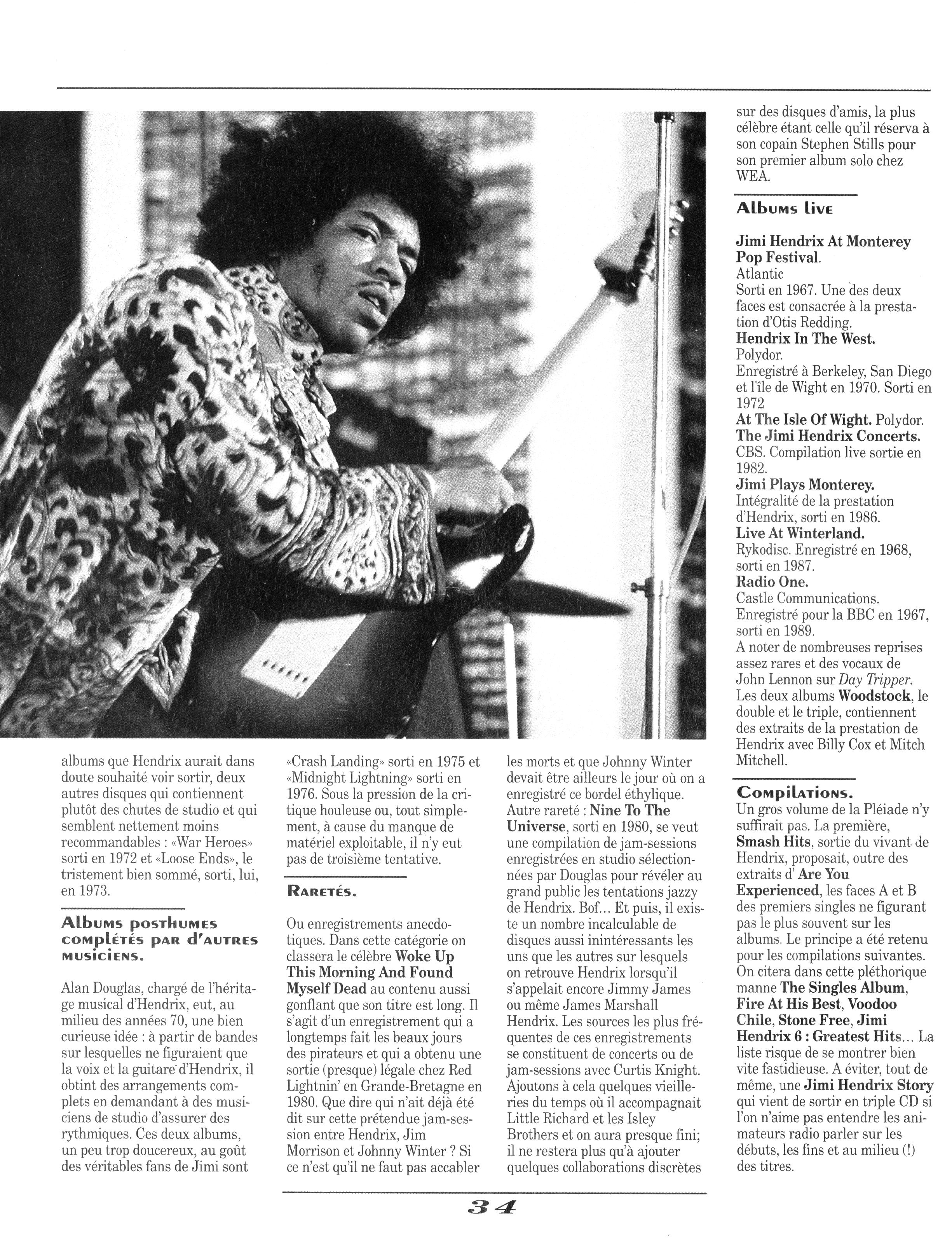 Magazines Français 1989 - 2014 GuitarWorldAvrilMaiJuin1990Page34