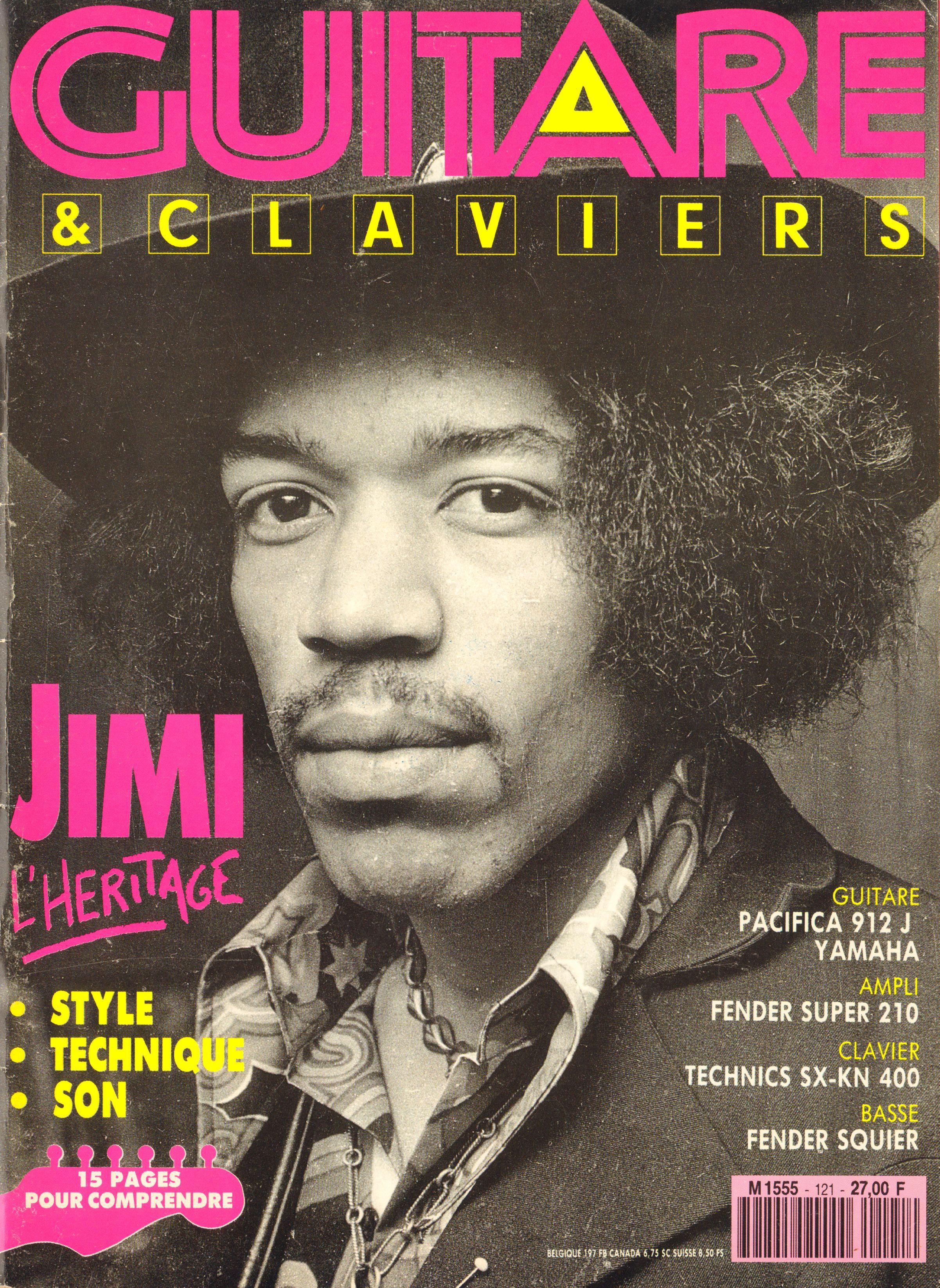 Magazines Français 1989 - 2014 GuitareClaviersJuilletAout1991Couverture