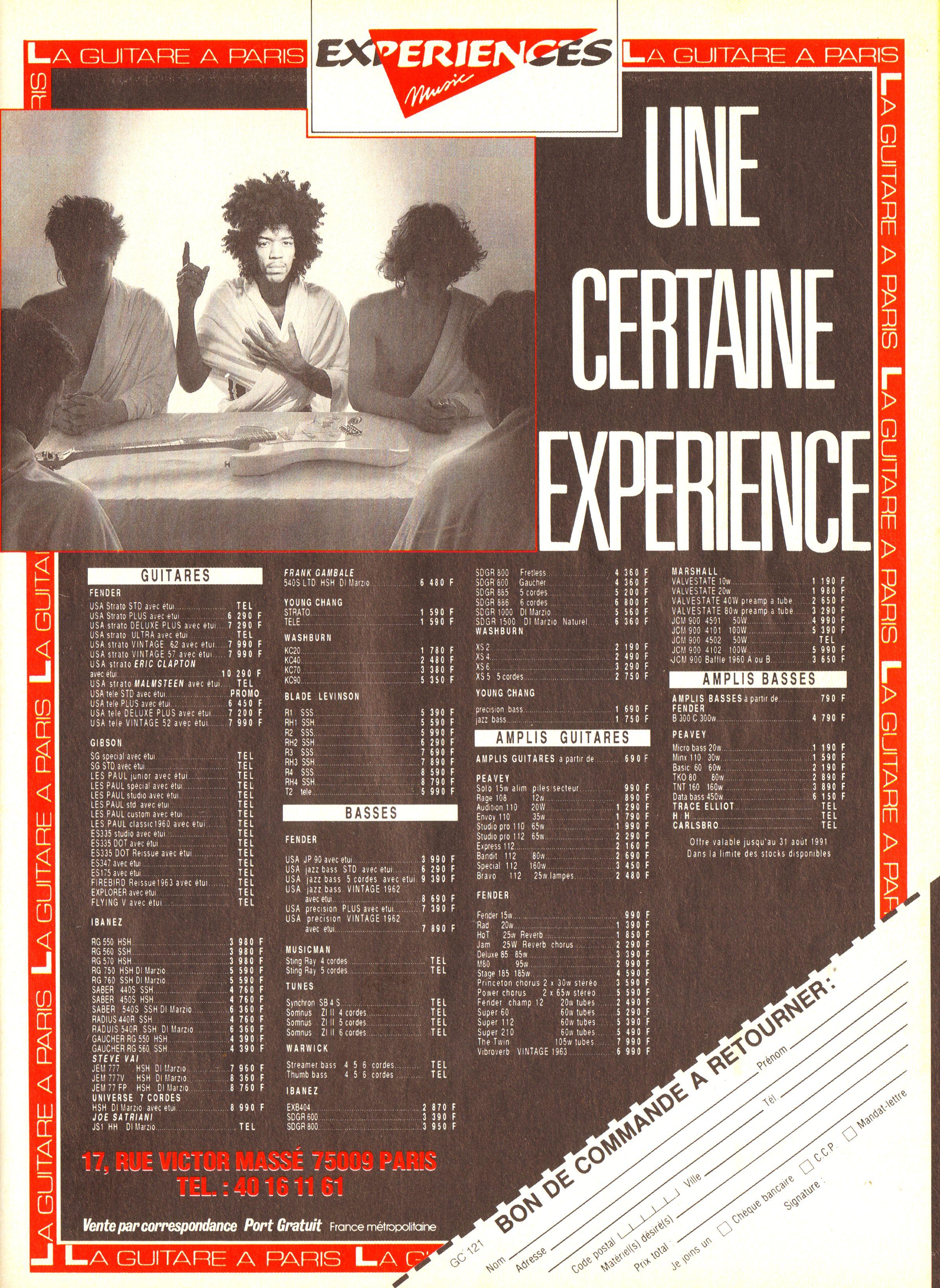 Magazines Français 1989 - 2014 GuitareClaviersJuilletAout1991Page25