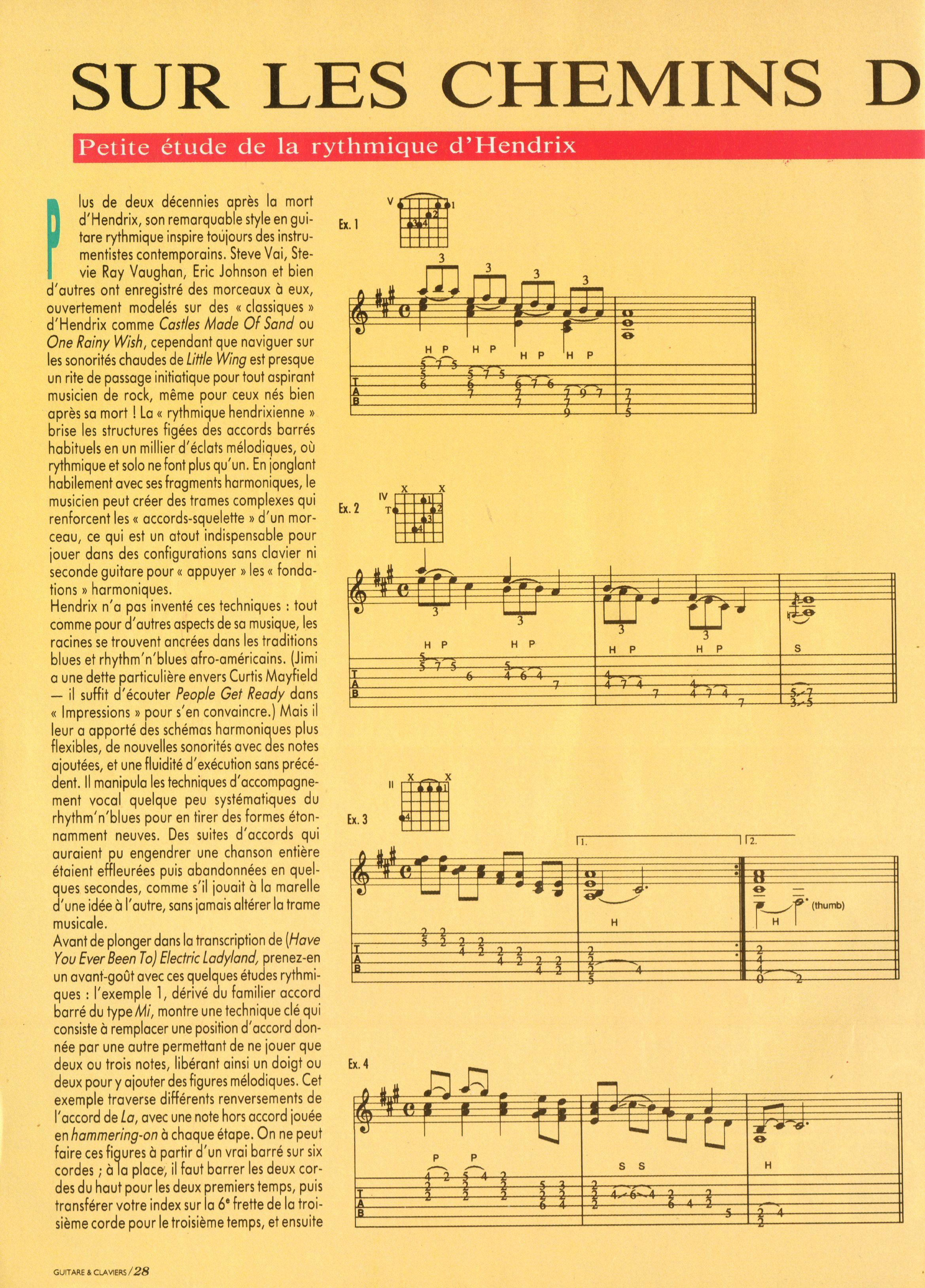 Magazines Français 1989 - 2014 GuitareClaviersJuilletAout1991Page28