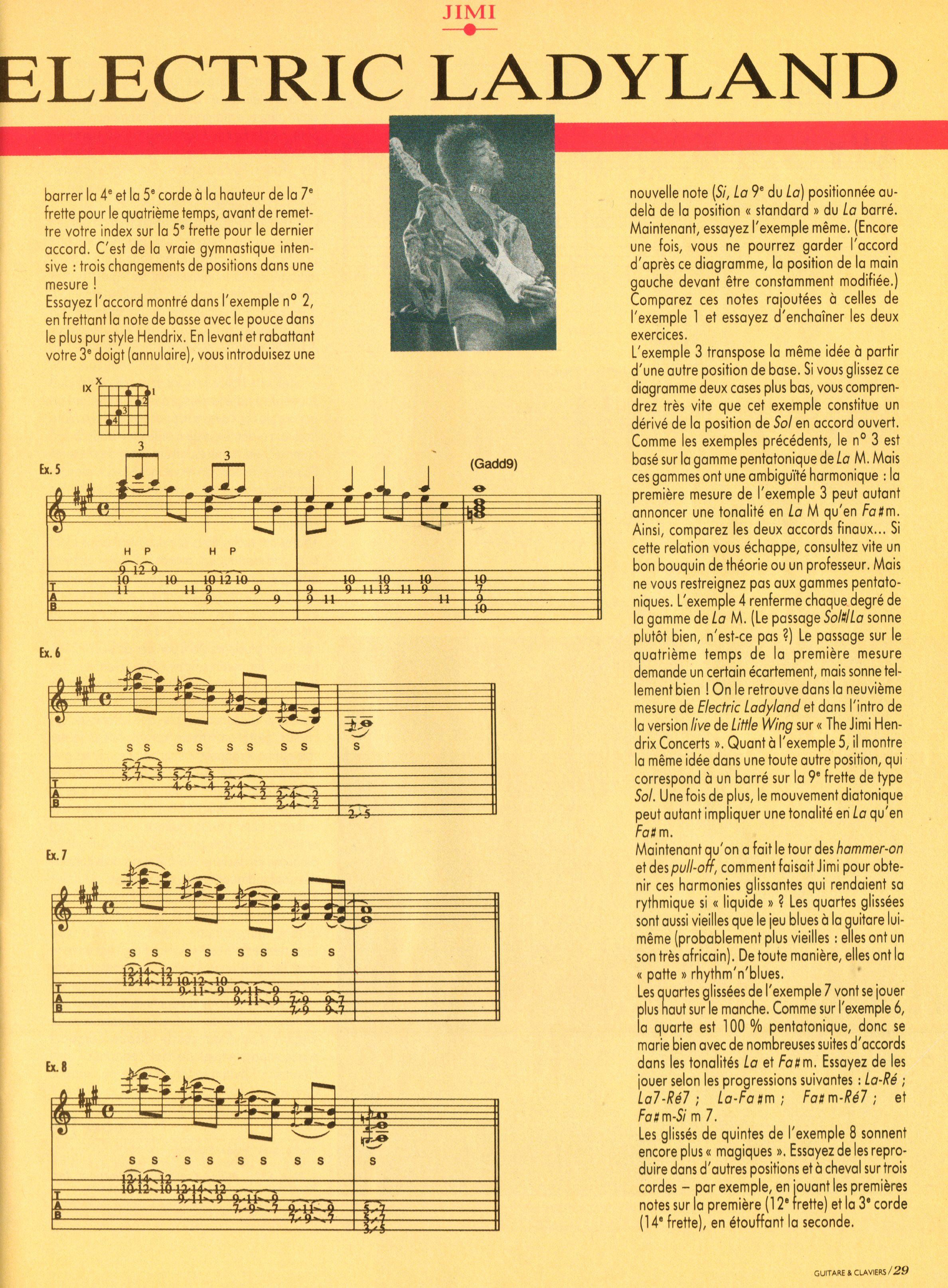 Magazines Français 1989 - 2014 GuitareClaviersJuilletAout1991Page29