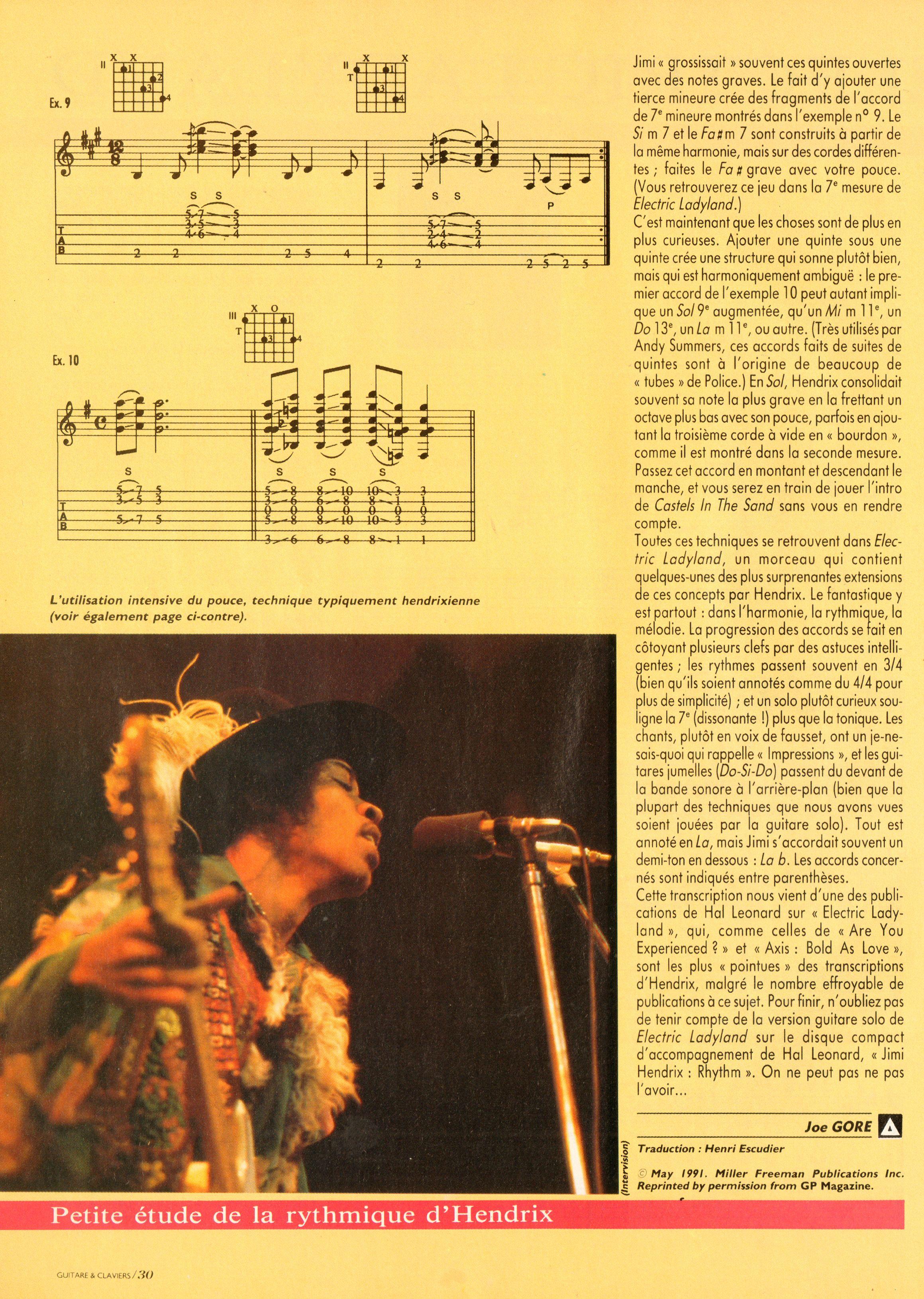 Magazines Français 1989 - 2014 GuitareClaviersJuilletAout1991Page30