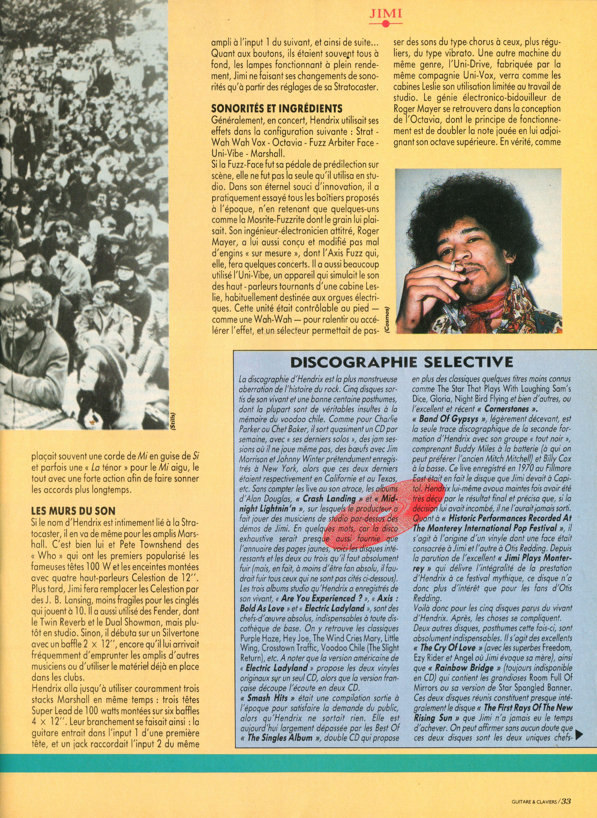 Magazines Français 1989 - 2014 GuitareClaviersJuilletAout1991Page33