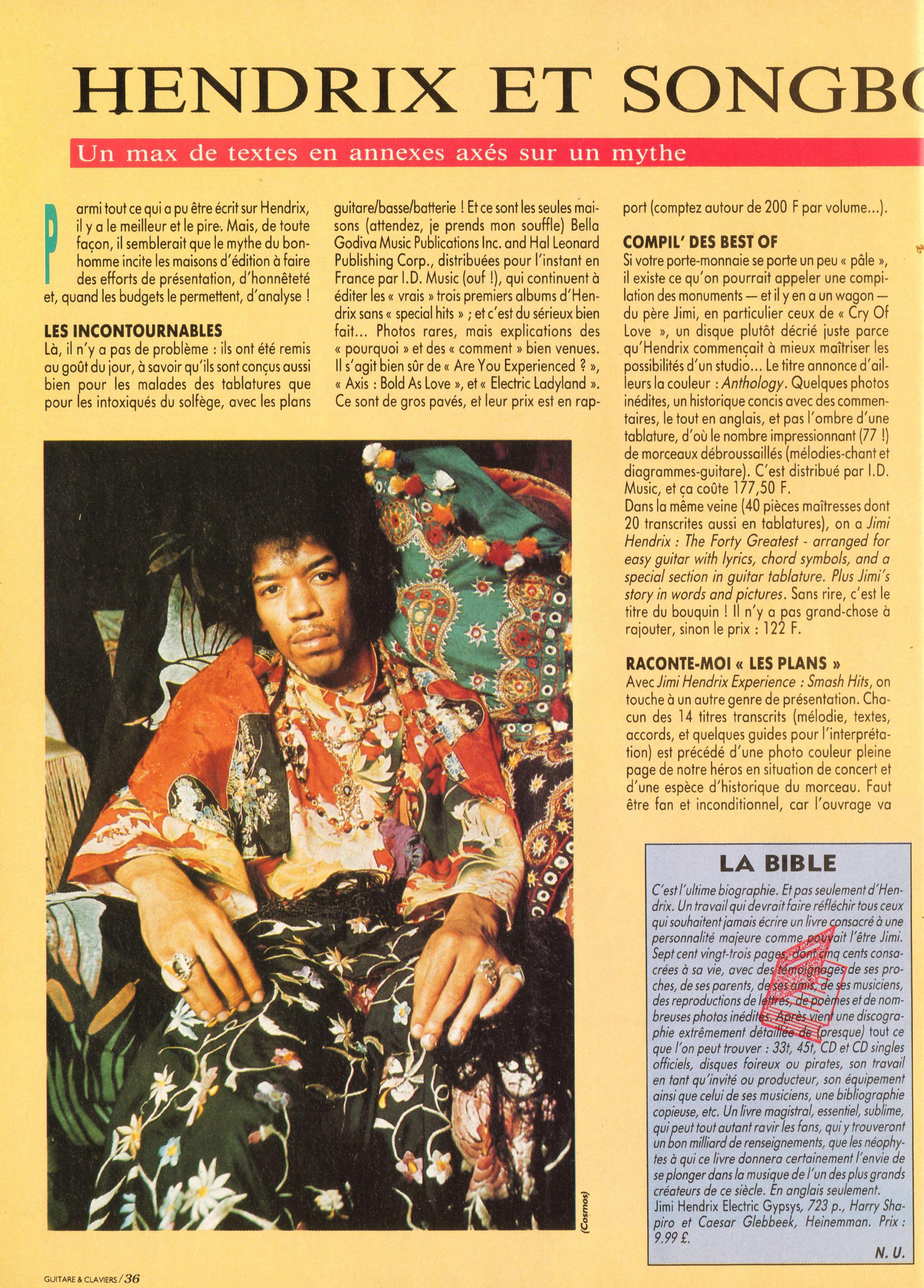 Magazines Français 1989 - 2014 GuitareClaviersJuilletAout1991Page36