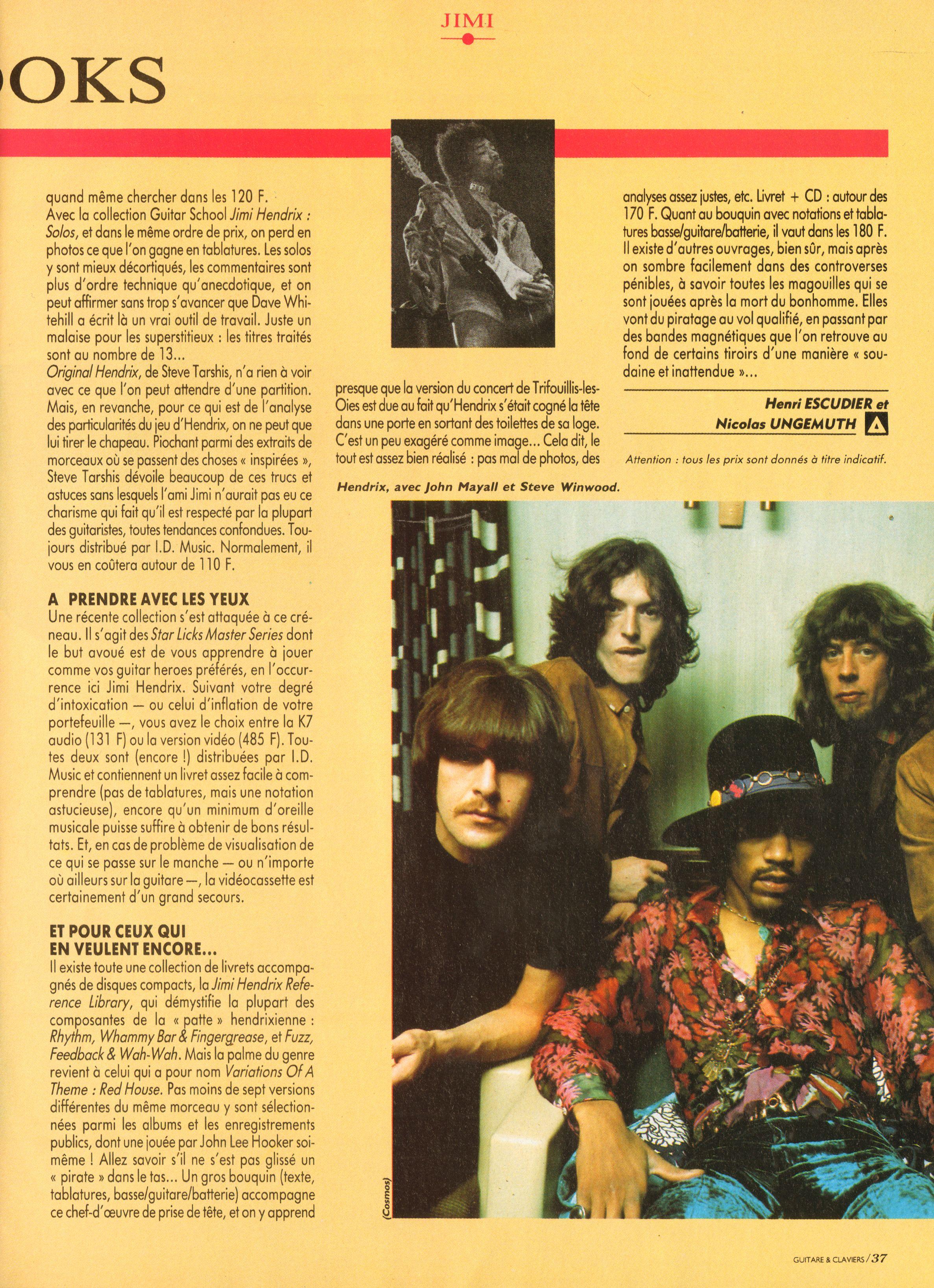 Magazines Français 1989 - 2014 GuitareClaviersJuilletAout1991Page37