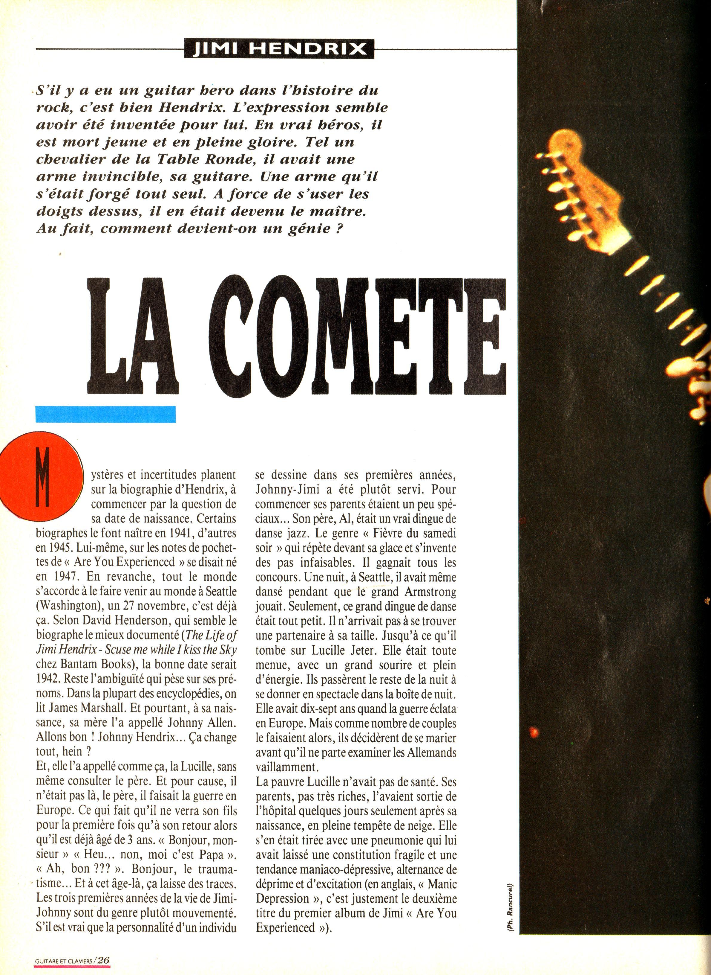 Magazines Français 1989 - 2014 GuitareClaviersMars1989Page26