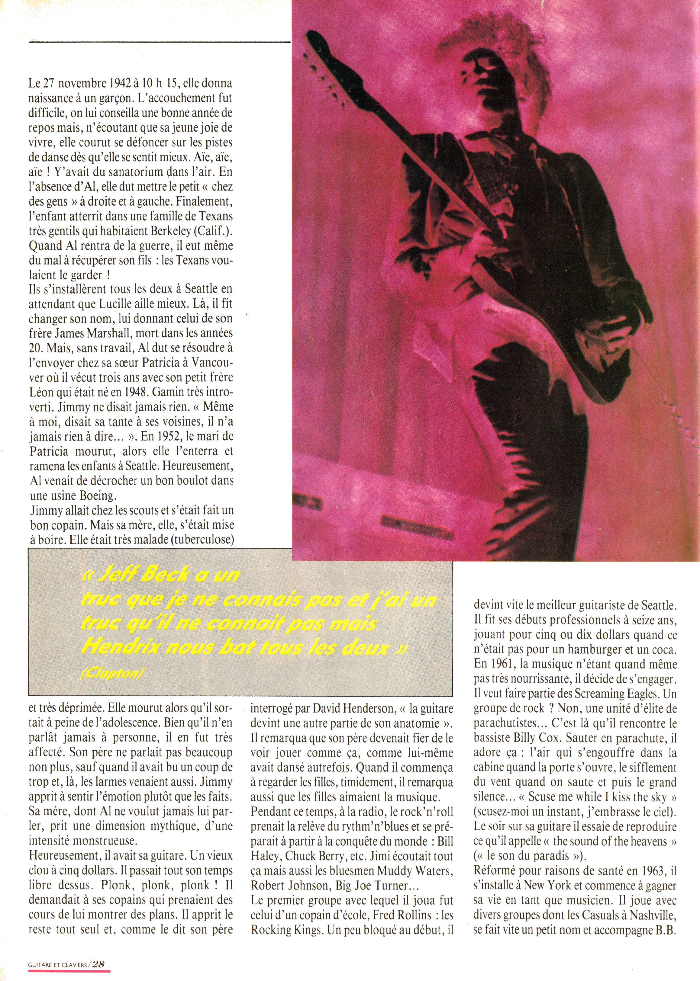 Magazines Français 1989 - 2014 GuitareClaviersMars1989Page28