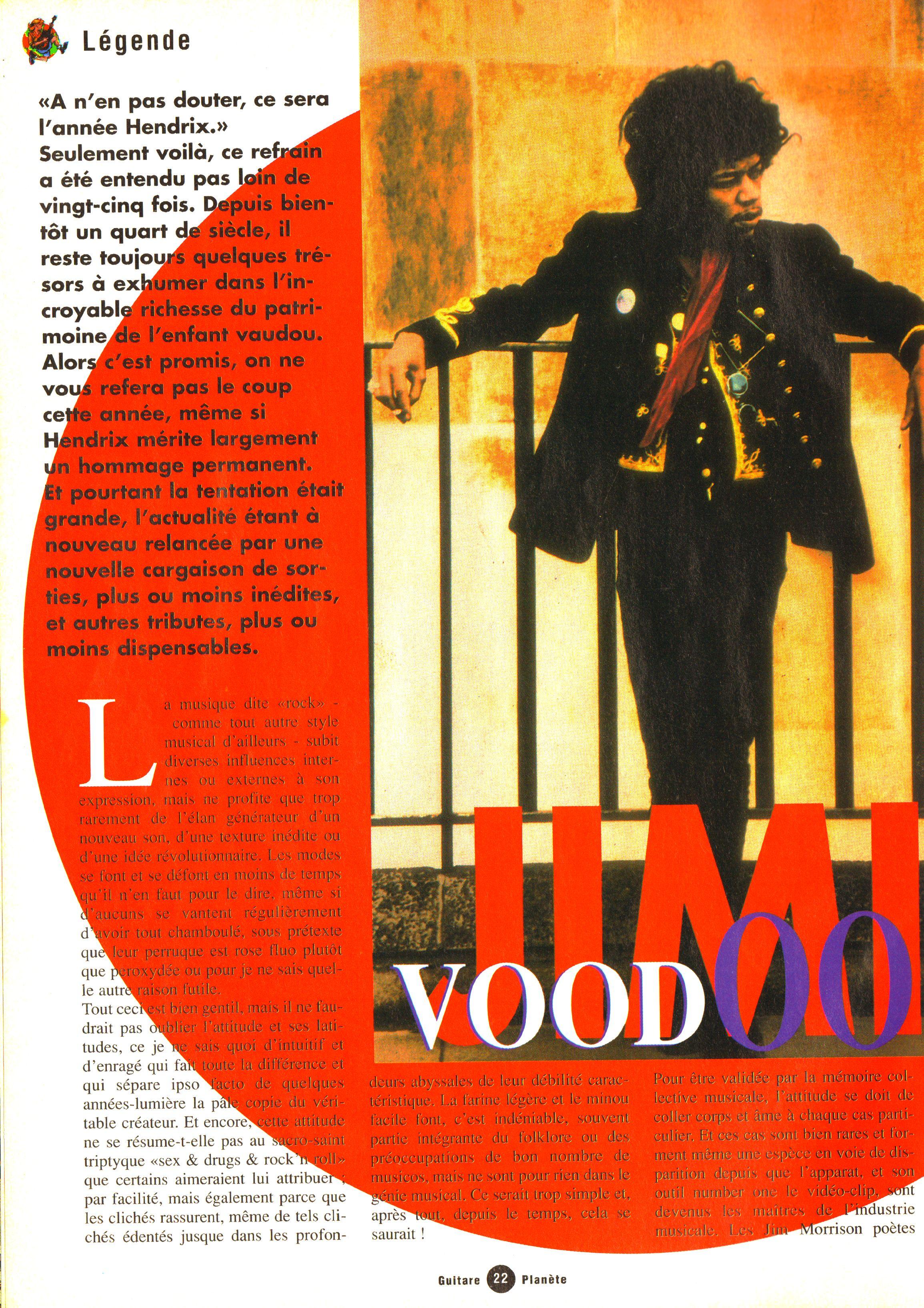 Magazines Français 1989 - 2014 GuitarePlaneteJuinJuilletAout1995Page22
