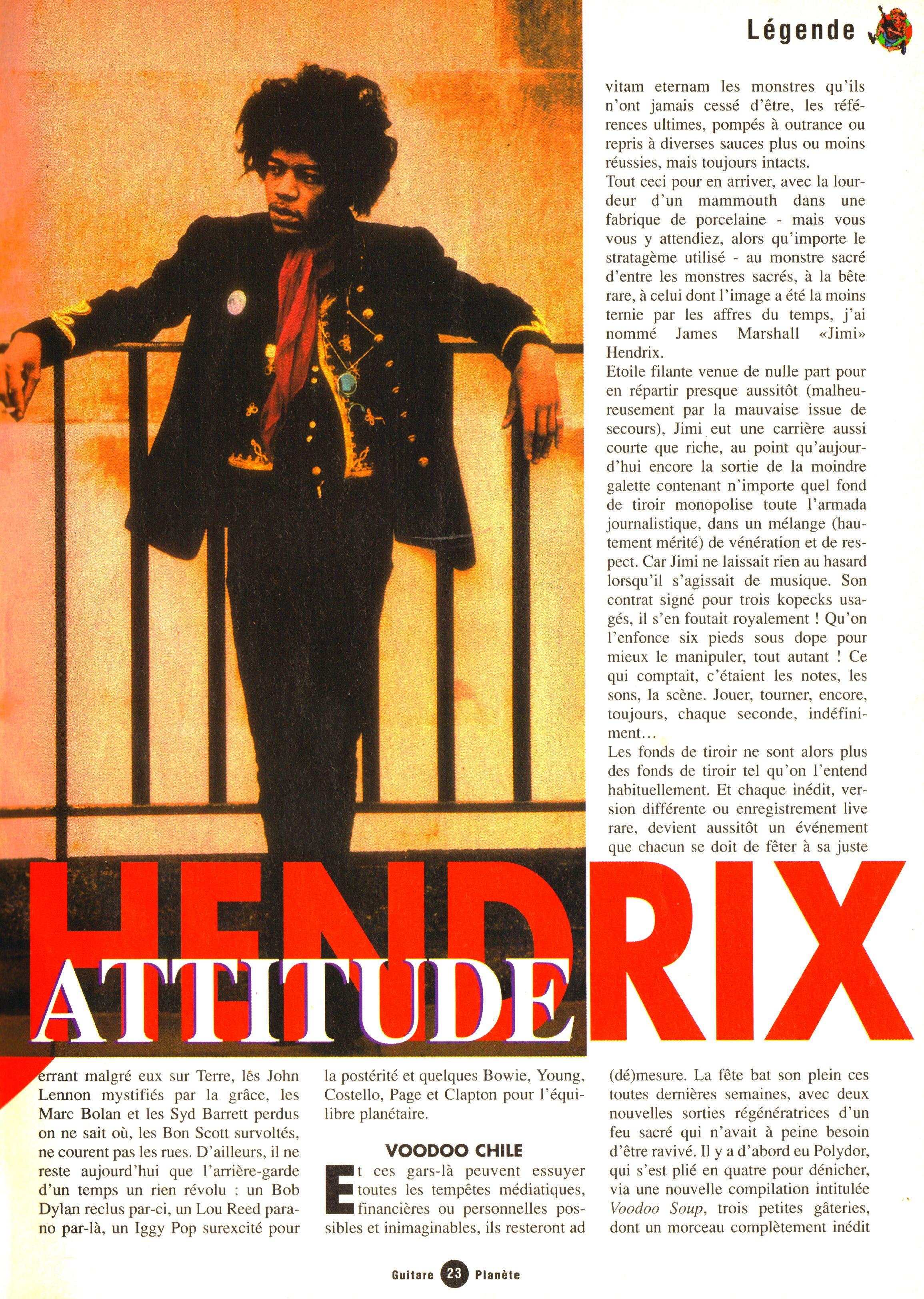 Magazines Français 1989 - 2014 GuitarePlaneteJuinJuilletAout1995Page23