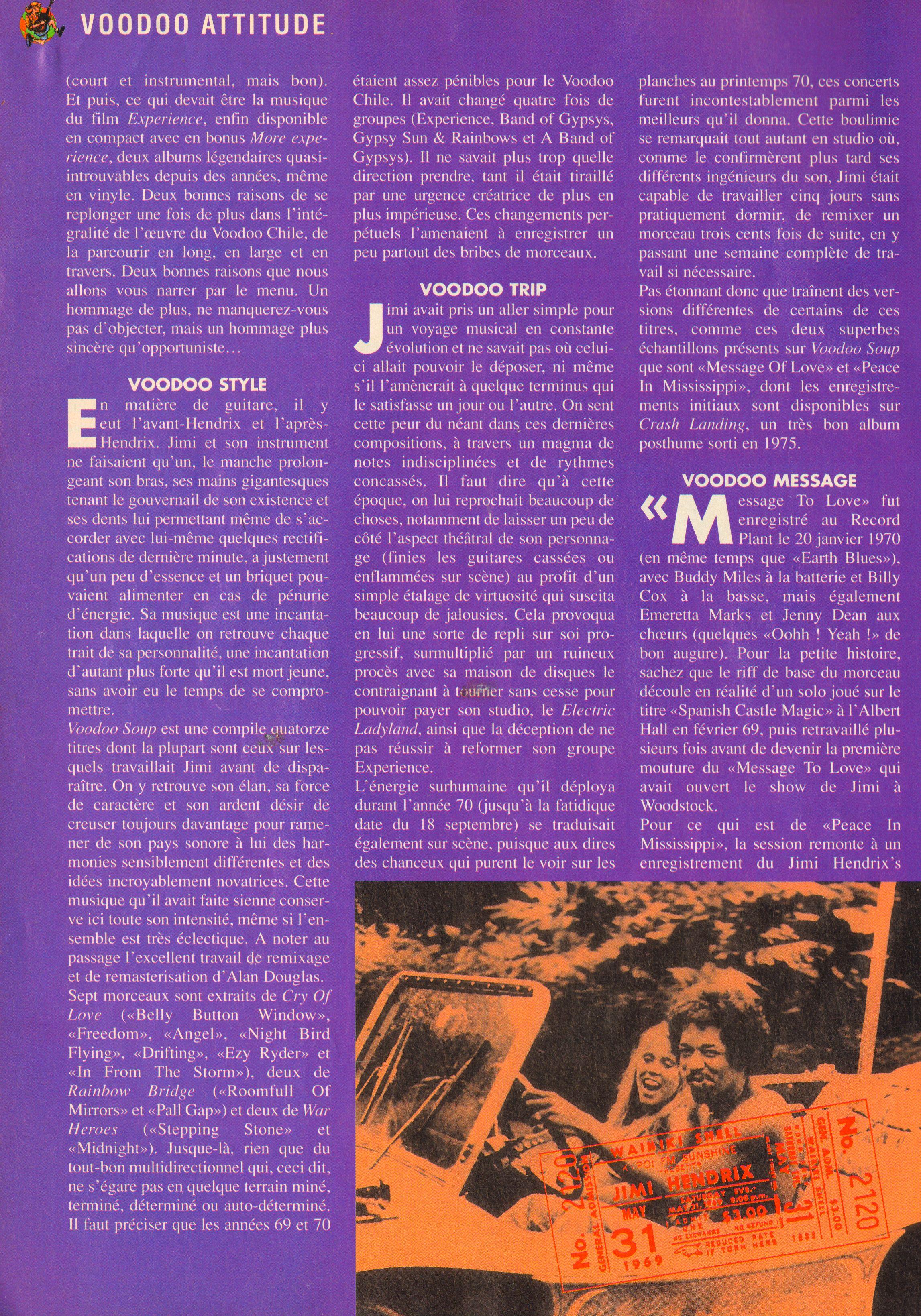 Magazines Français 1989 - 2014 GuitarePlaneteJuinJuilletAout1995Page24