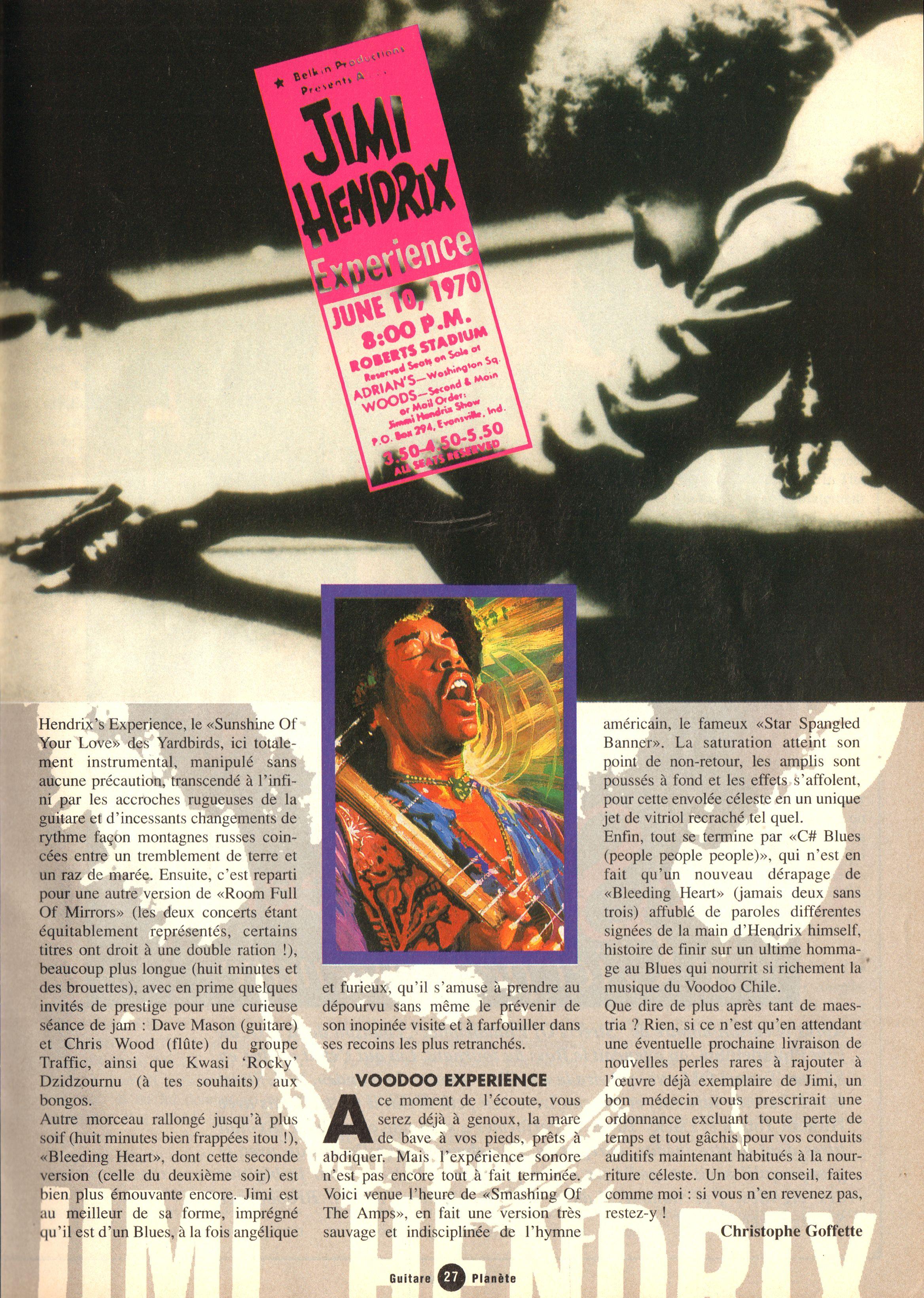 Magazines Français 1989 - 2014 GuitarePlaneteJuinJuilletAout1995Page27