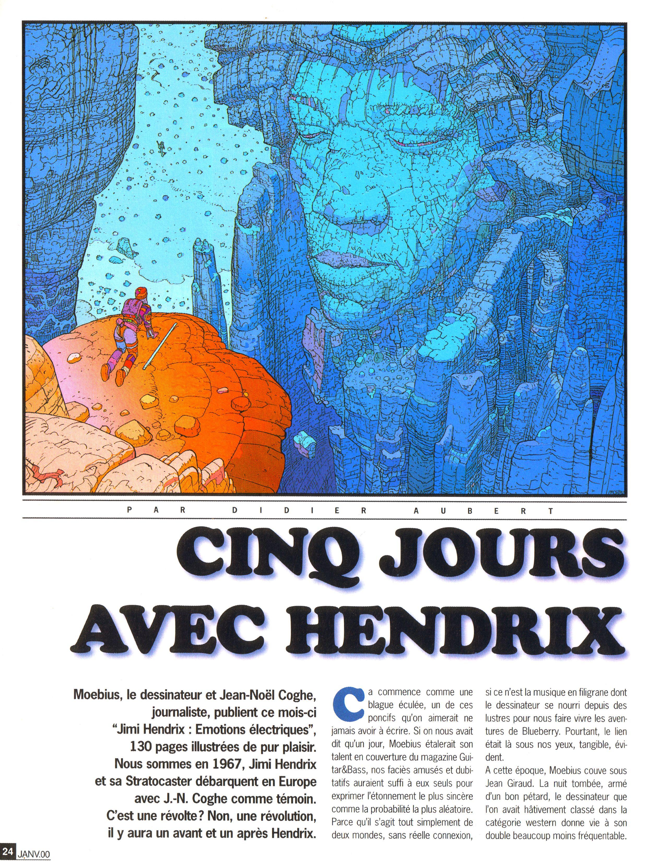Magazines Français 1989 - 2014 GuitaretBassJanvier2000Page24