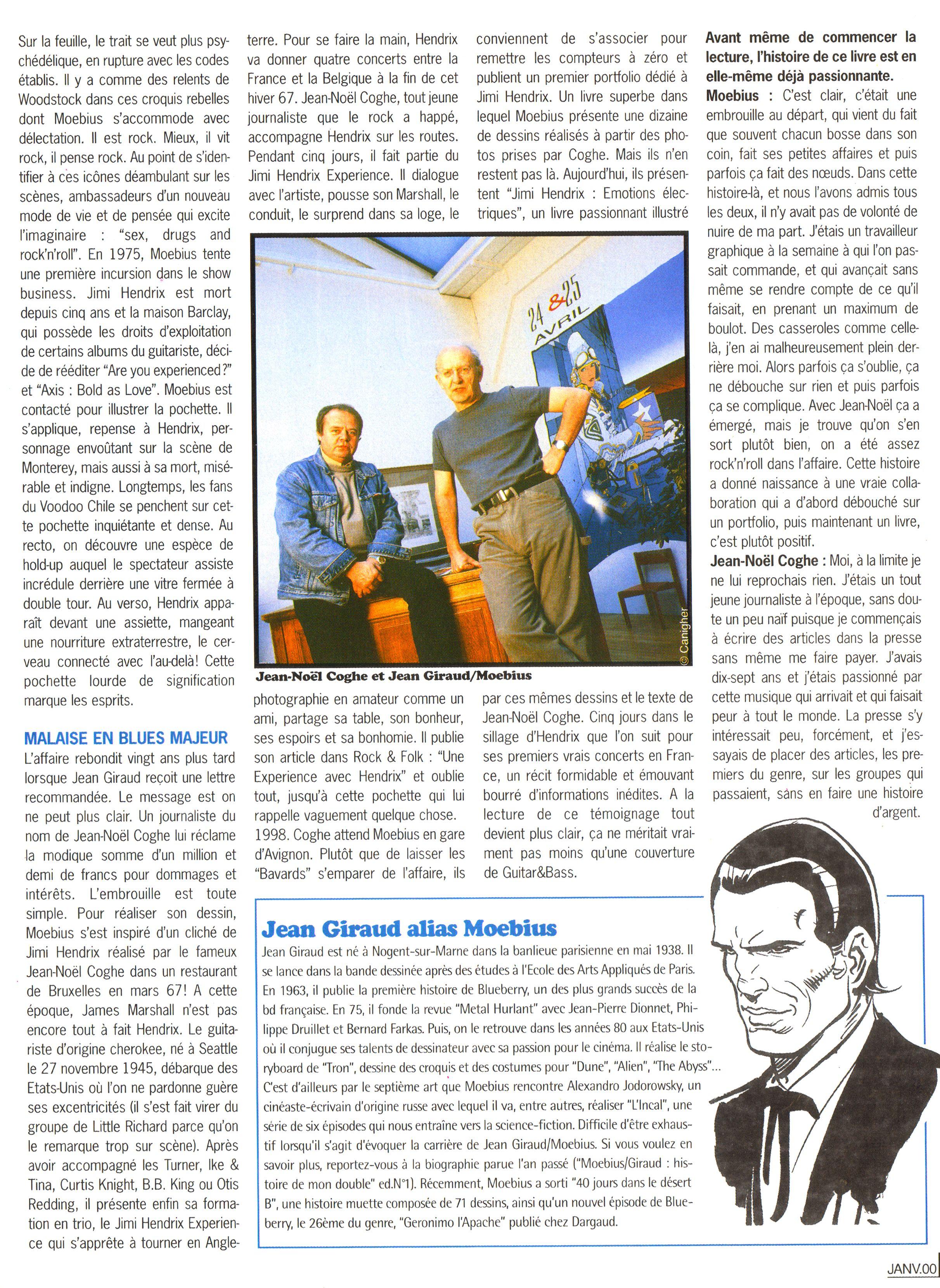 Magazines Français 1989 - 2014 GuitaretBassJanvier2000Page25