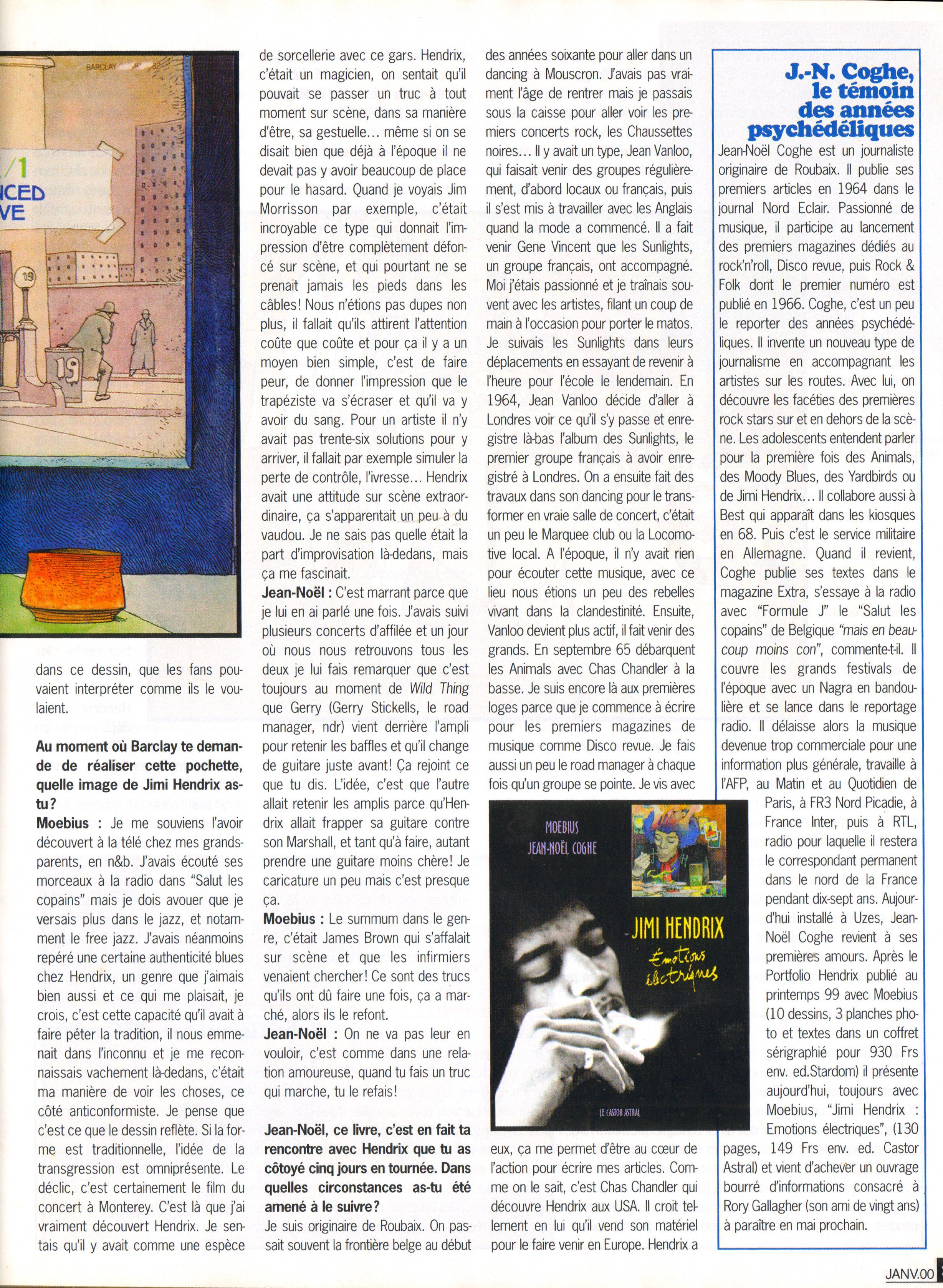 Magazines Français 1989 - 2014 GuitaretBassJanvier2000Page27