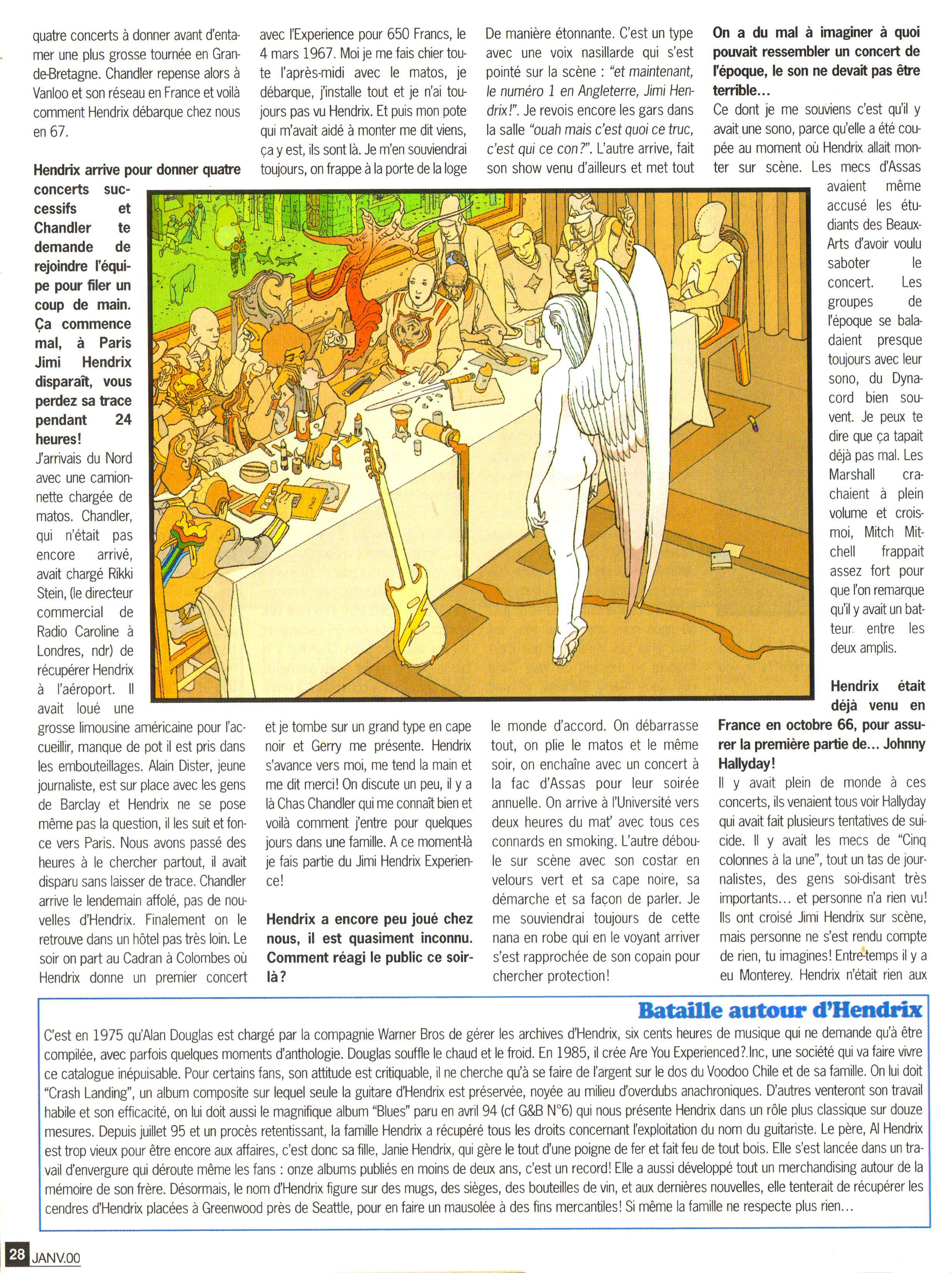 Magazines Français 1989 - 2014 GuitaretBassJanvier2000Page28